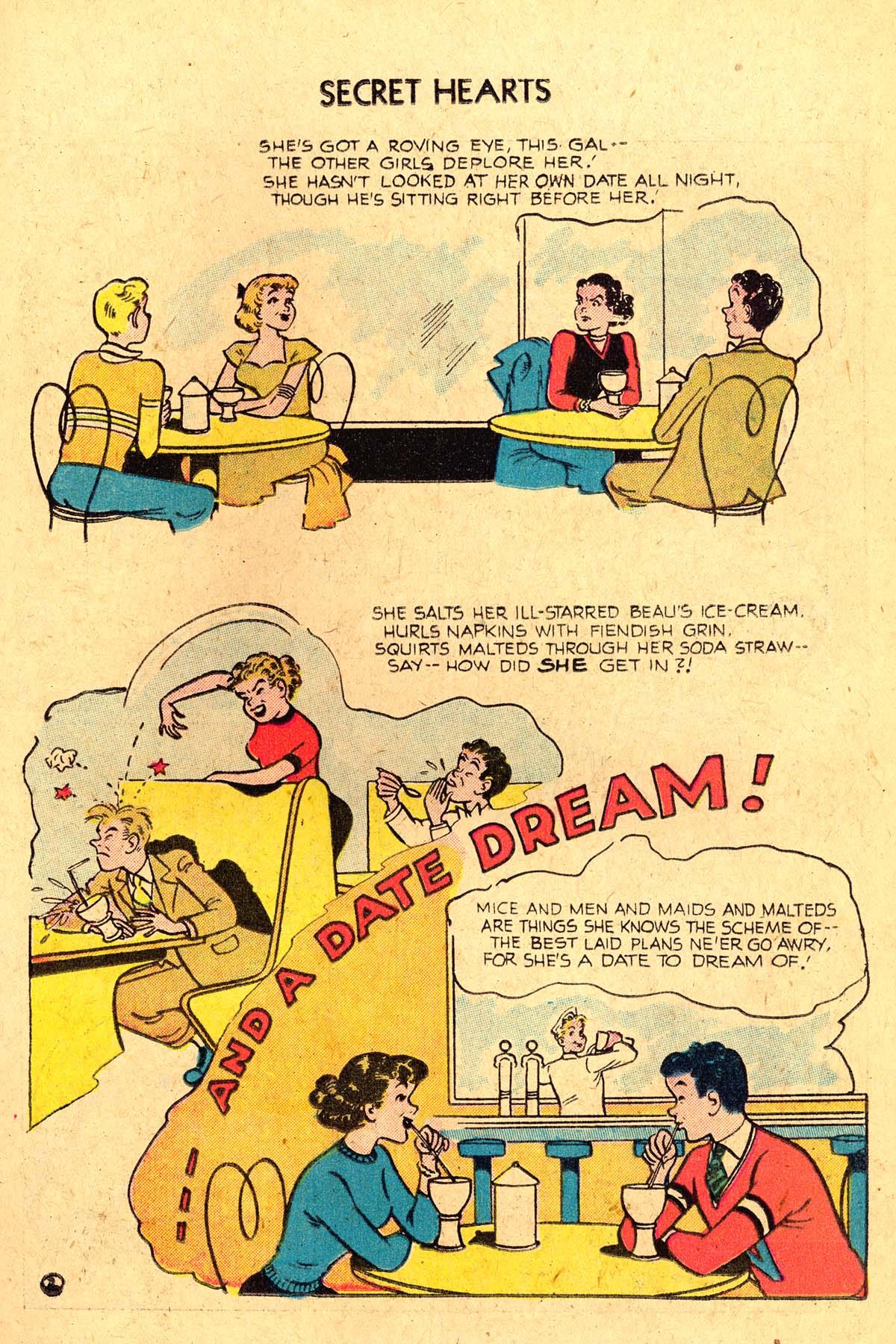 Read online Secret Hearts comic -  Issue #36 - 11