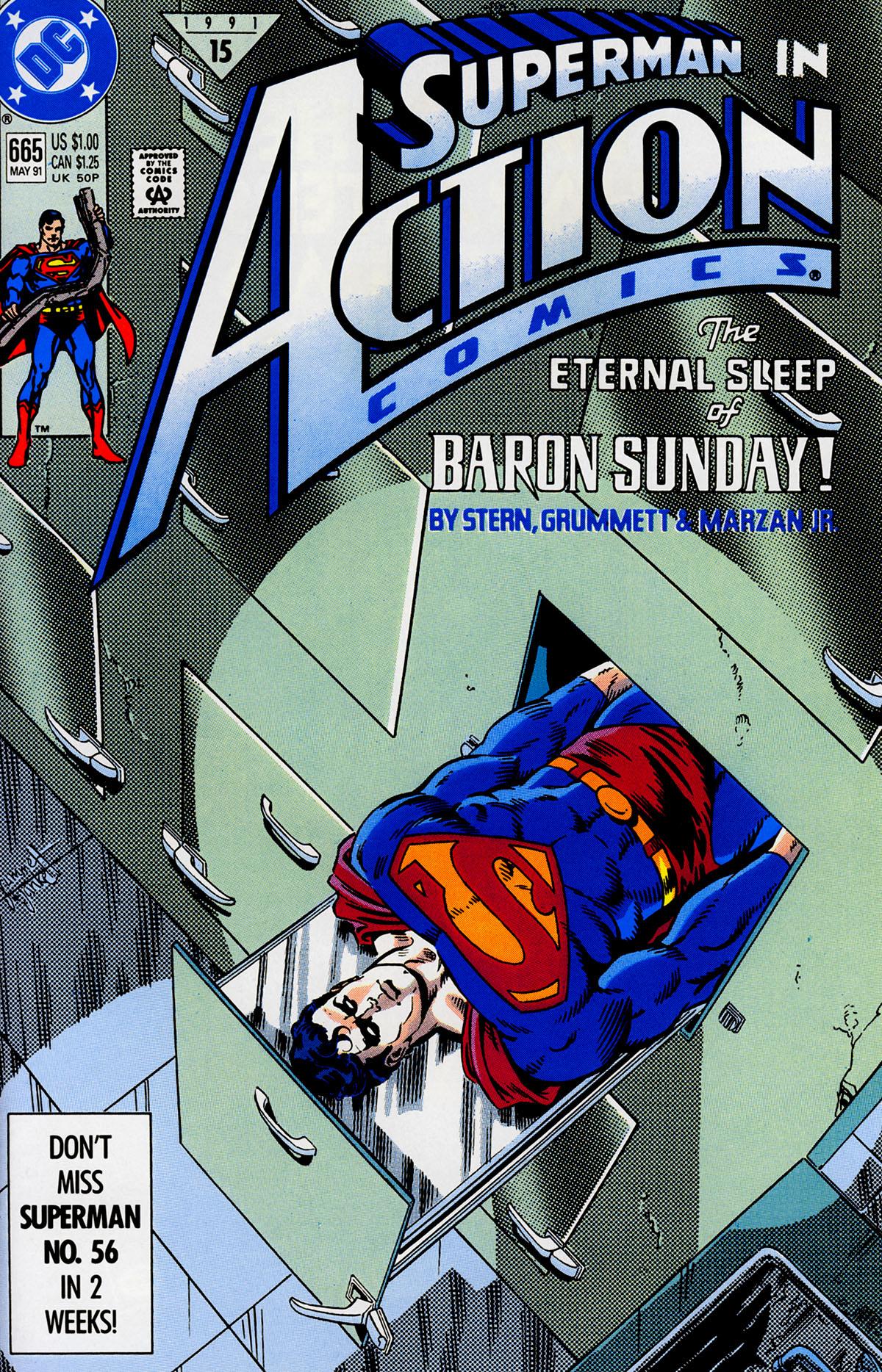 Action Comics (1938) 665 Page 1
