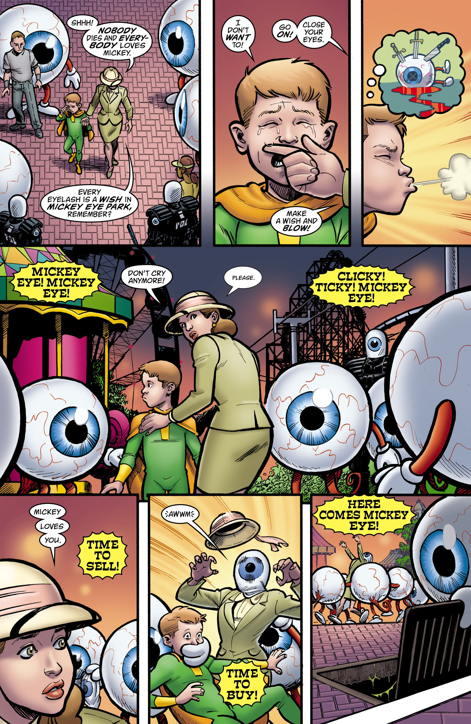 Read online Seaguy: The Slaves of Mickey Eye comic -  Issue #3 - 4