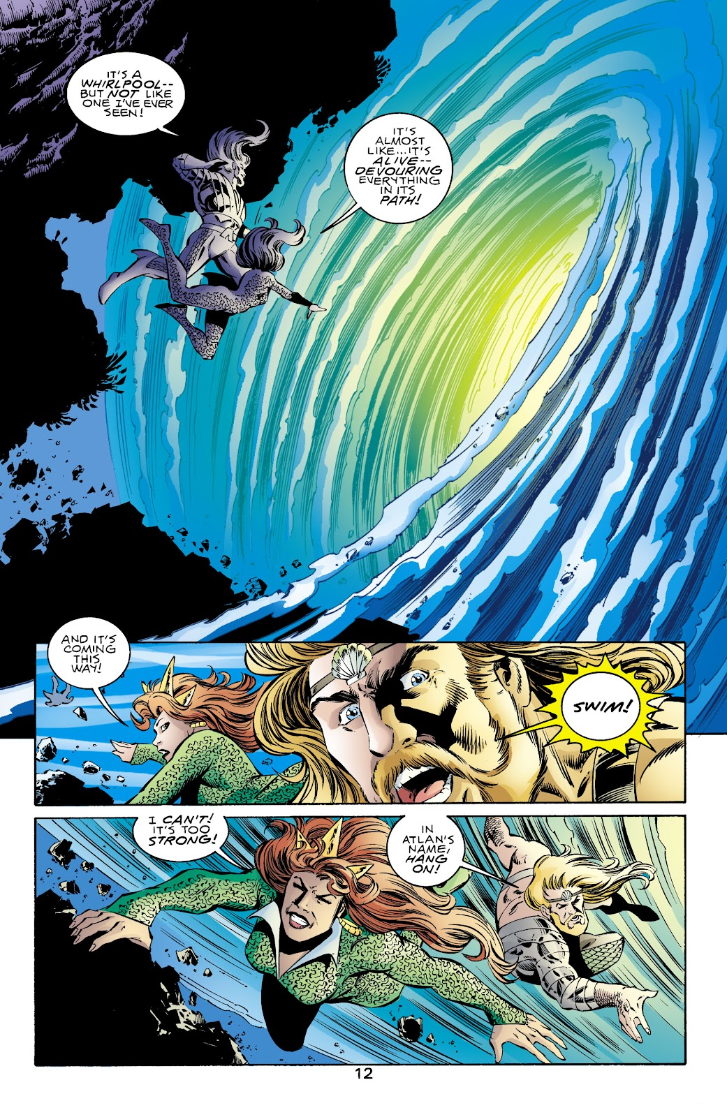 Aquaman (1994) Issue #71 #77 - English 12