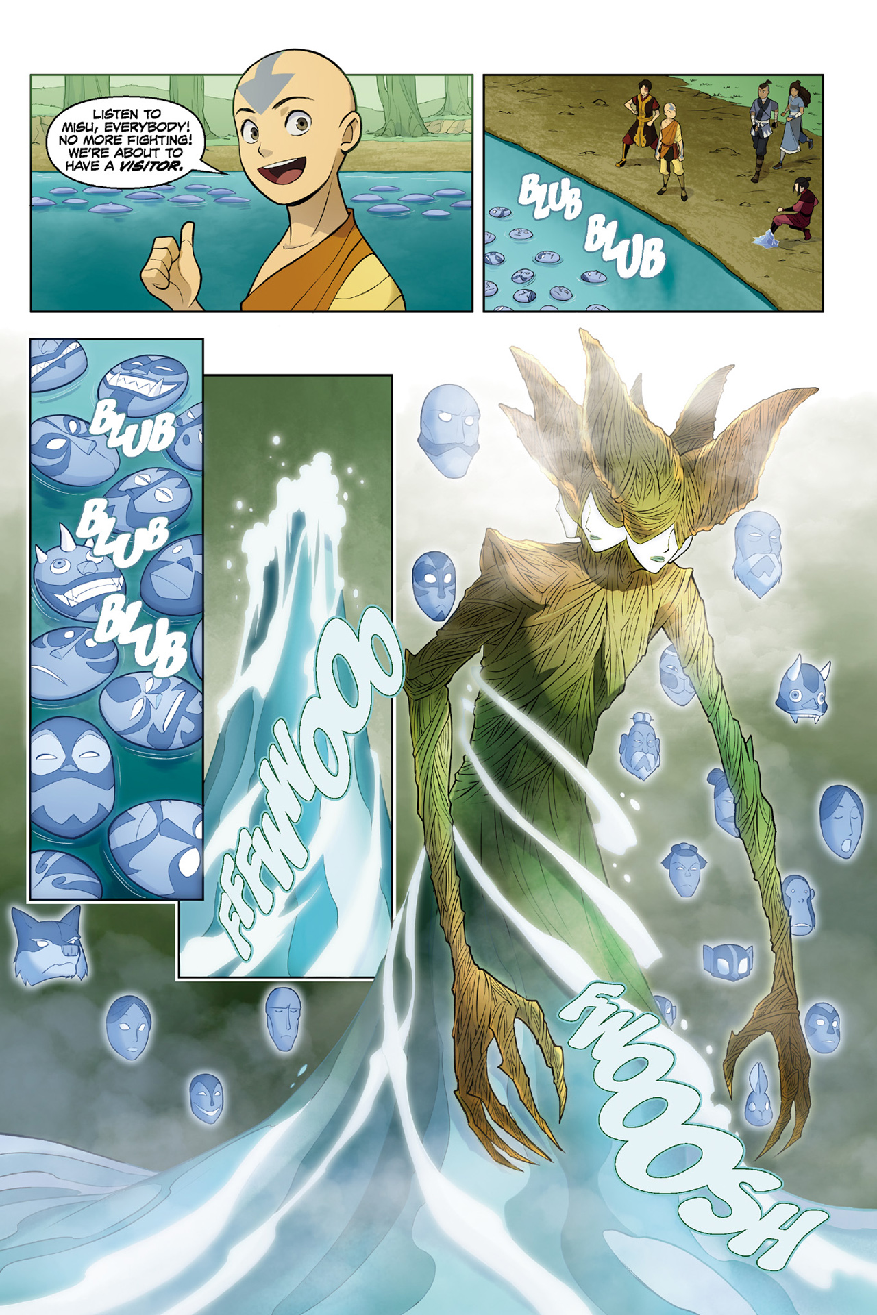 Read online Nickelodeon Avatar: The Last Airbender - The Search comic -  Issue # Part 3 - 9