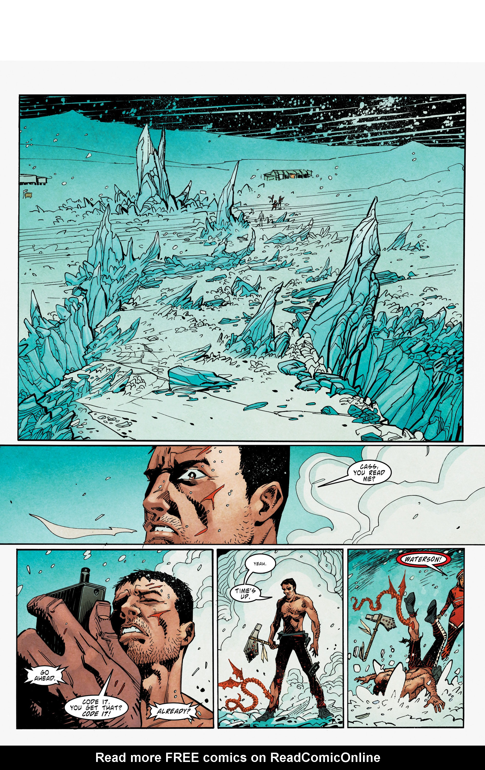 Read online Mythic comic -  Issue #6 - 11