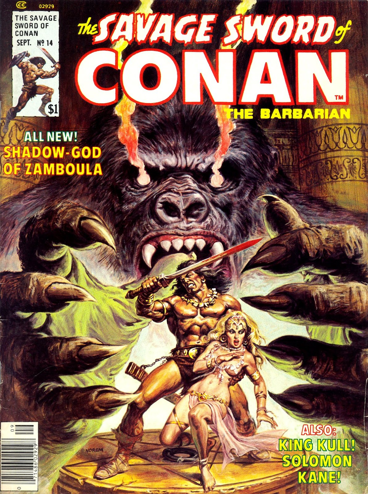The Savage Sword Of Conan Issue #14 #15 - English 1