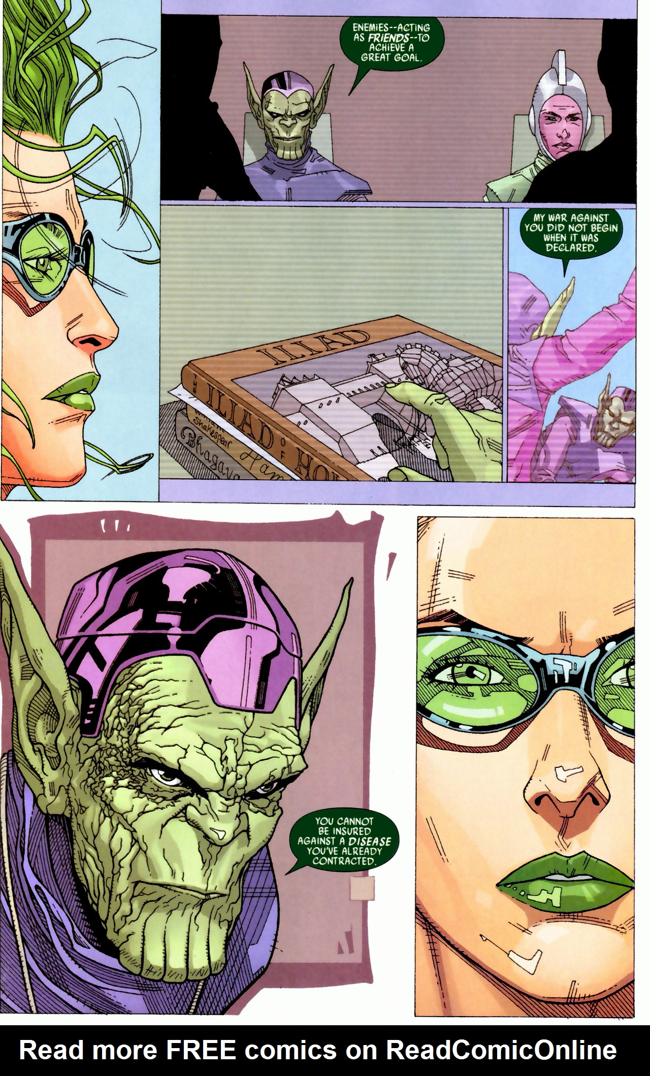 Read online Secret Invasion: Who Do You Trust? comic -  Issue # Full - 19