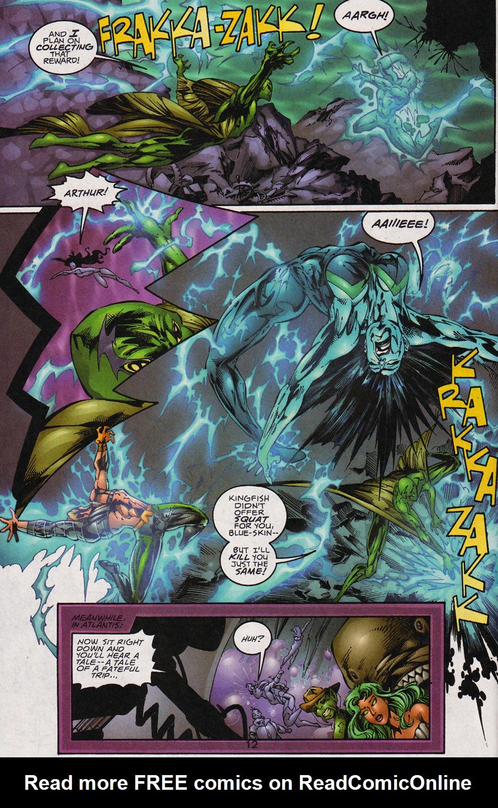 Aquaman (1994) Issue #59 #65 - English 13