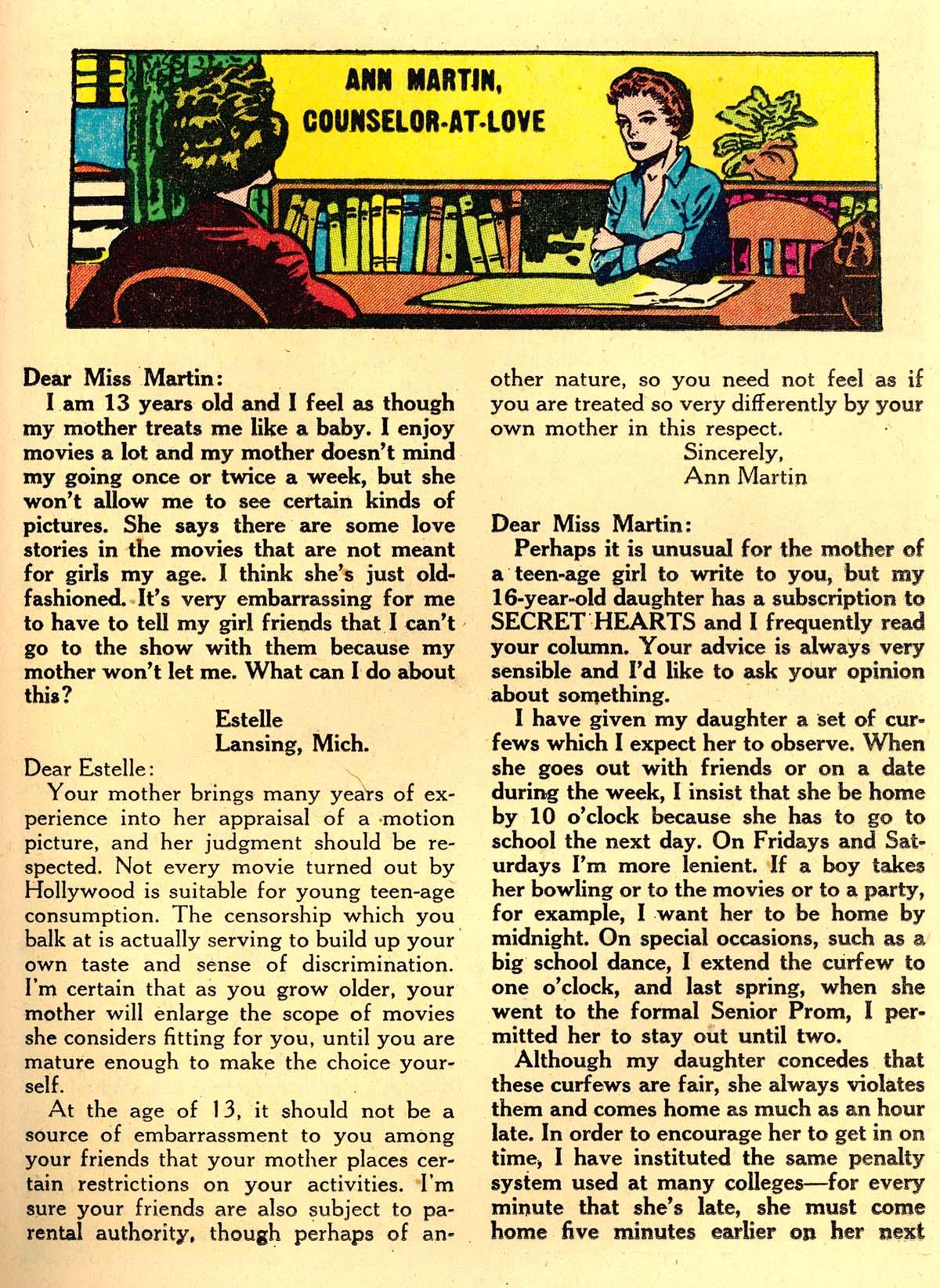 Read online Secret Hearts comic -  Issue #35 - 25
