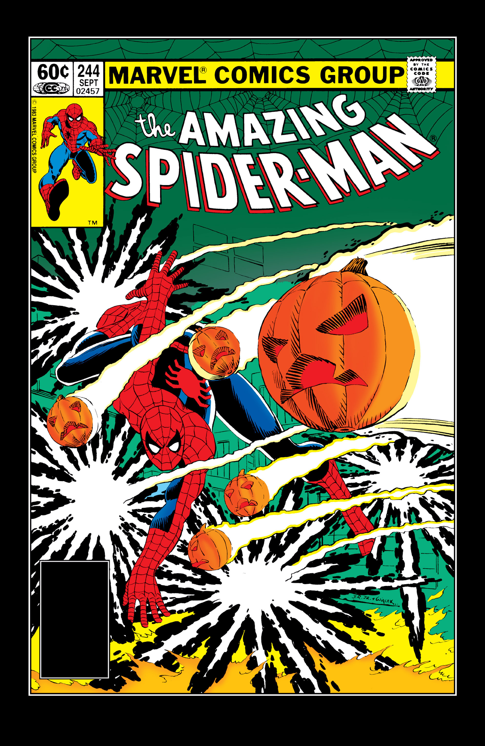 The Amazing Spider-Man (1963) 244 Page 1