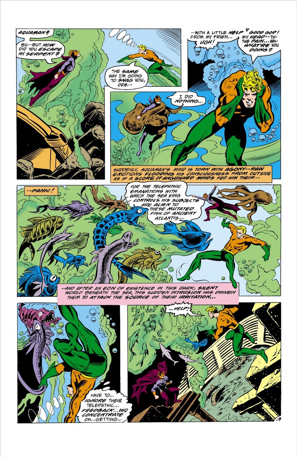 Aquaman (1962) Issue #63 #63 - English 14
