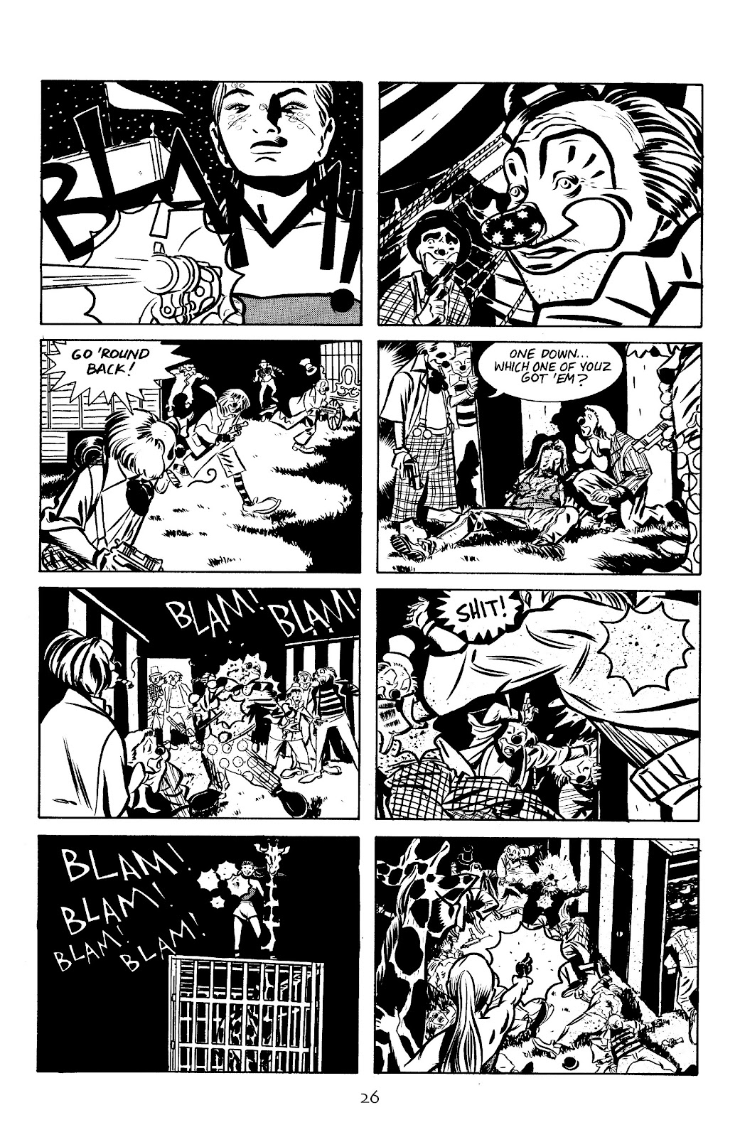 Stray Bullets Issue #10 #10 - English 28