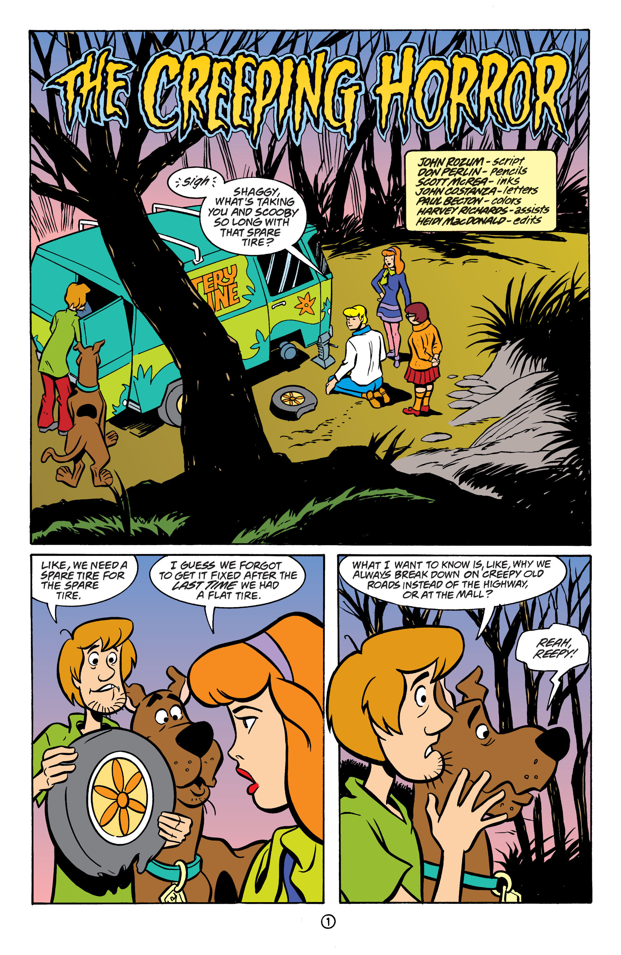 Read online Scooby-Doo: Where Are You? comic -  Issue #64 - 12