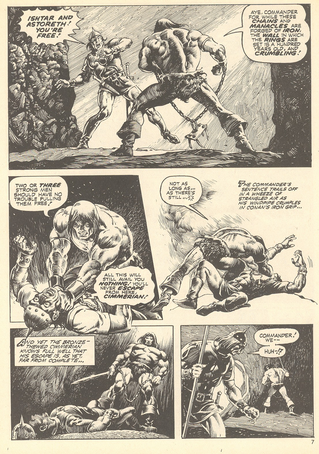 The Savage Sword Of Conan Issue #75 #76 - English 7