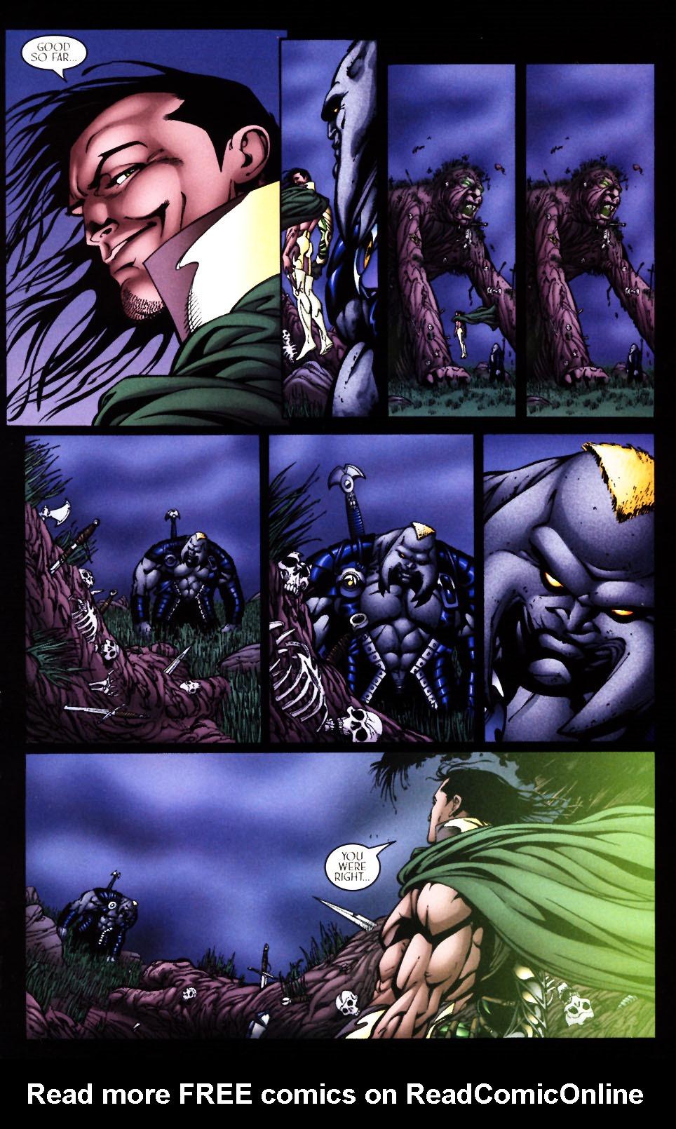 Read online Scion comic -  Issue #4 - 27