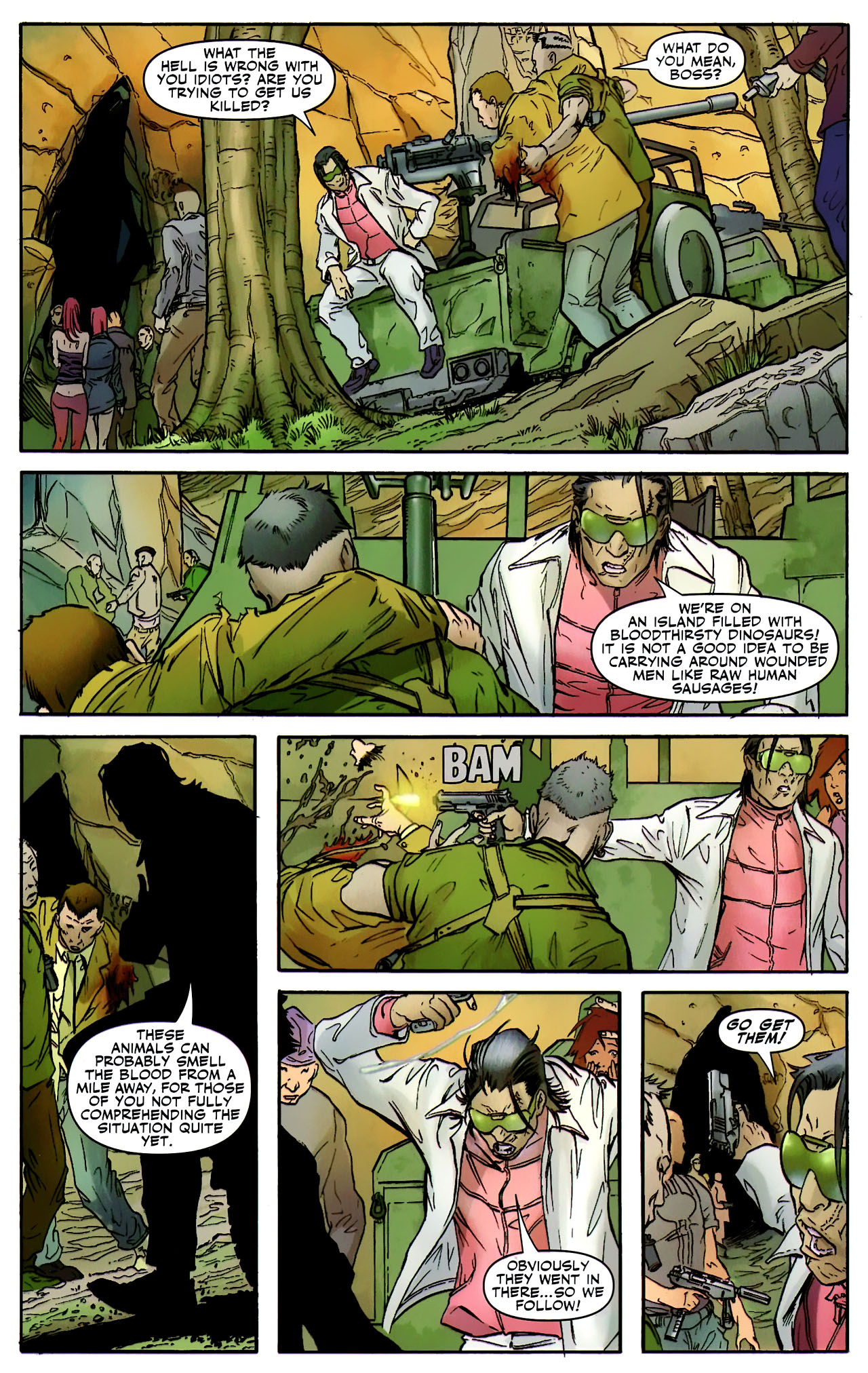Read online Shanna the She-Devil: Survival of the Fittest comic -  Issue #2 - 10