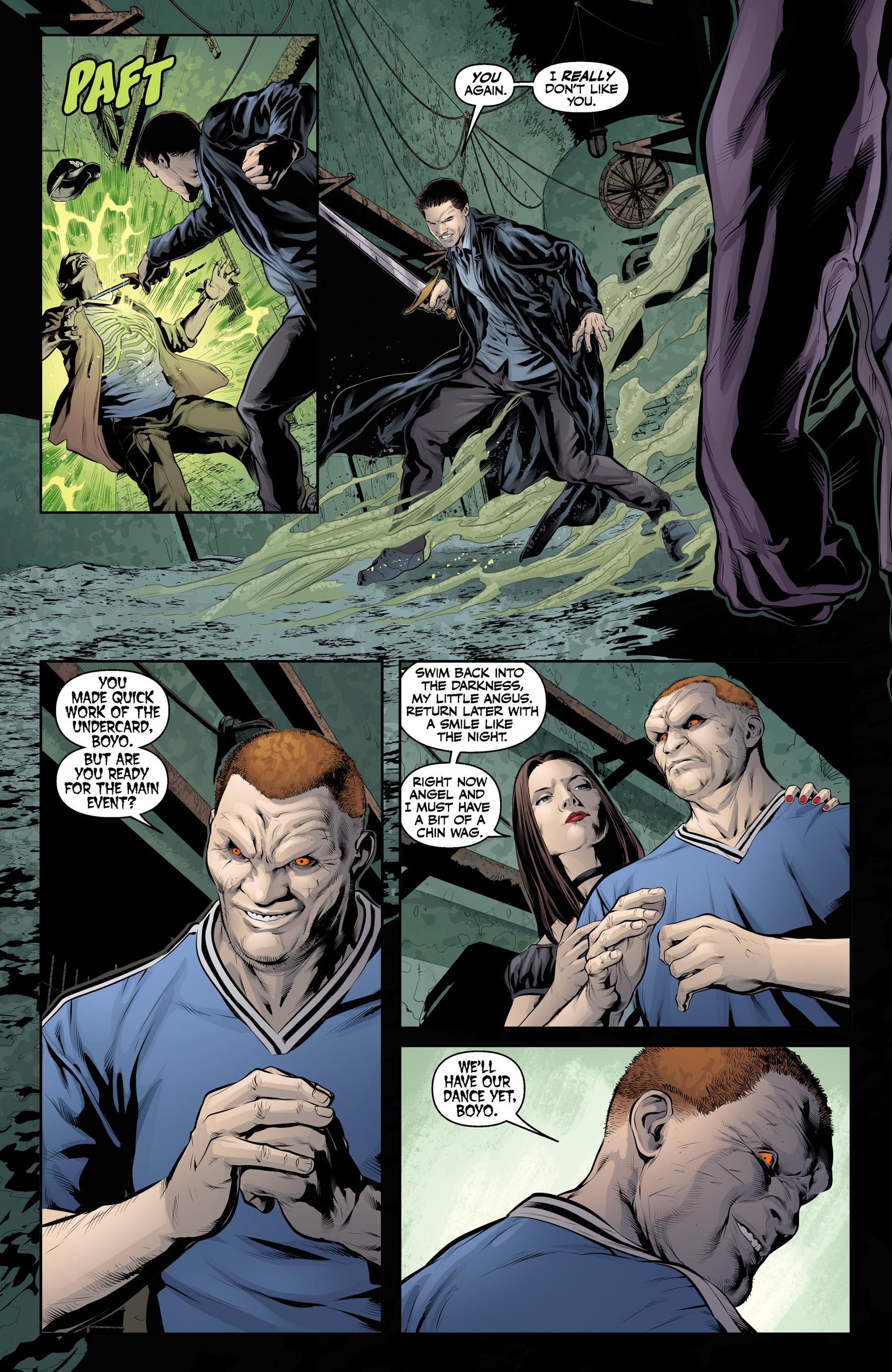 Read online Angel & Faith Season 10 comic -  Issue #21 - 20