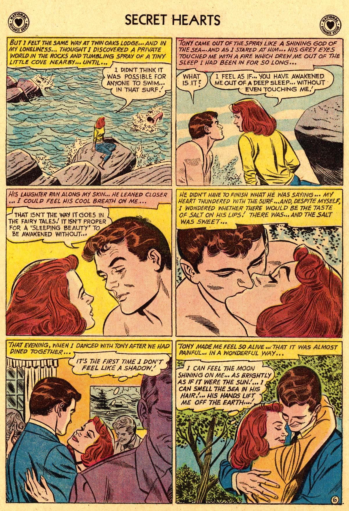 Read online Secret Hearts comic -  Issue #69 - 32