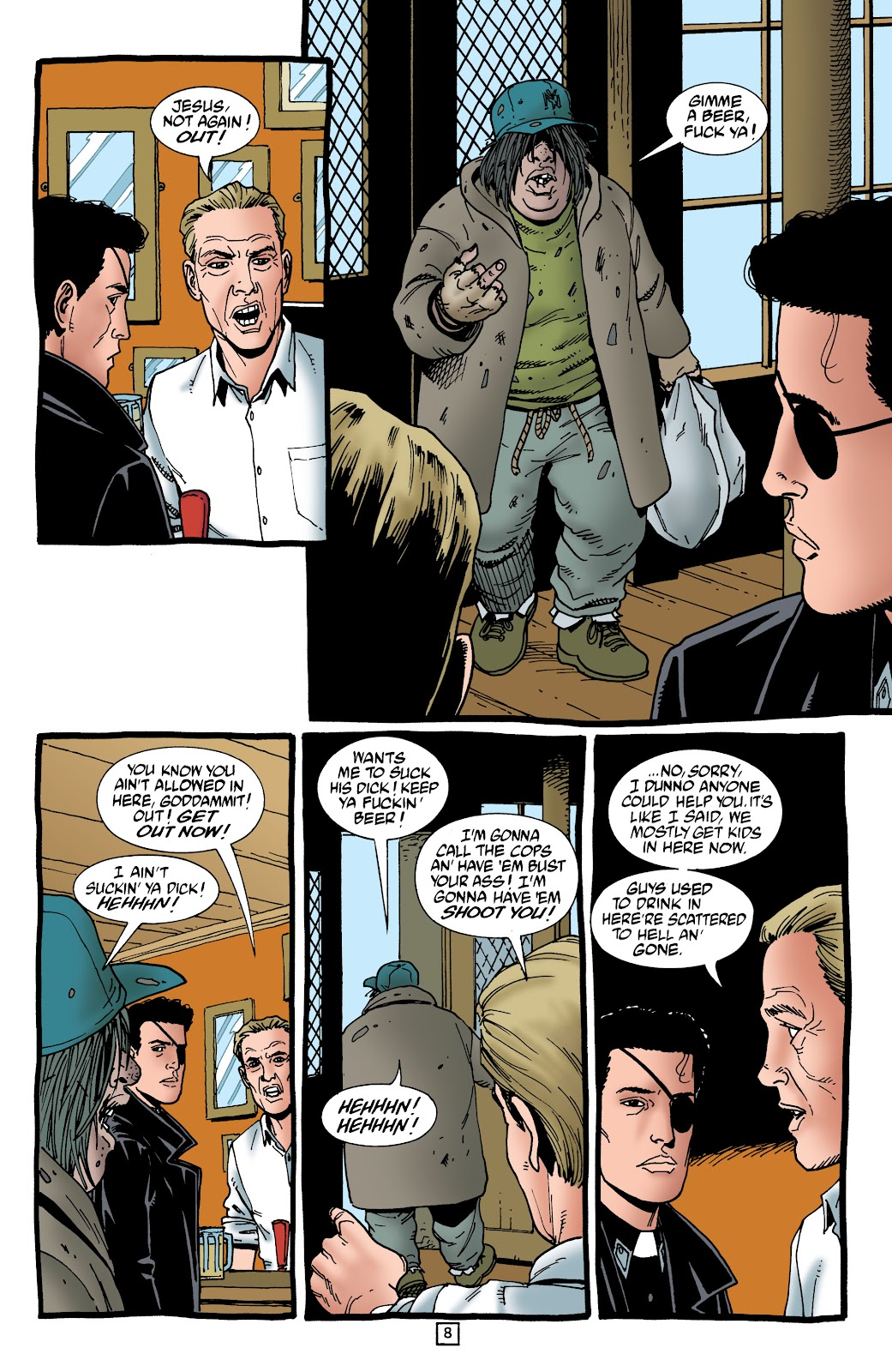Preacher Issue #55 #64 - English 9