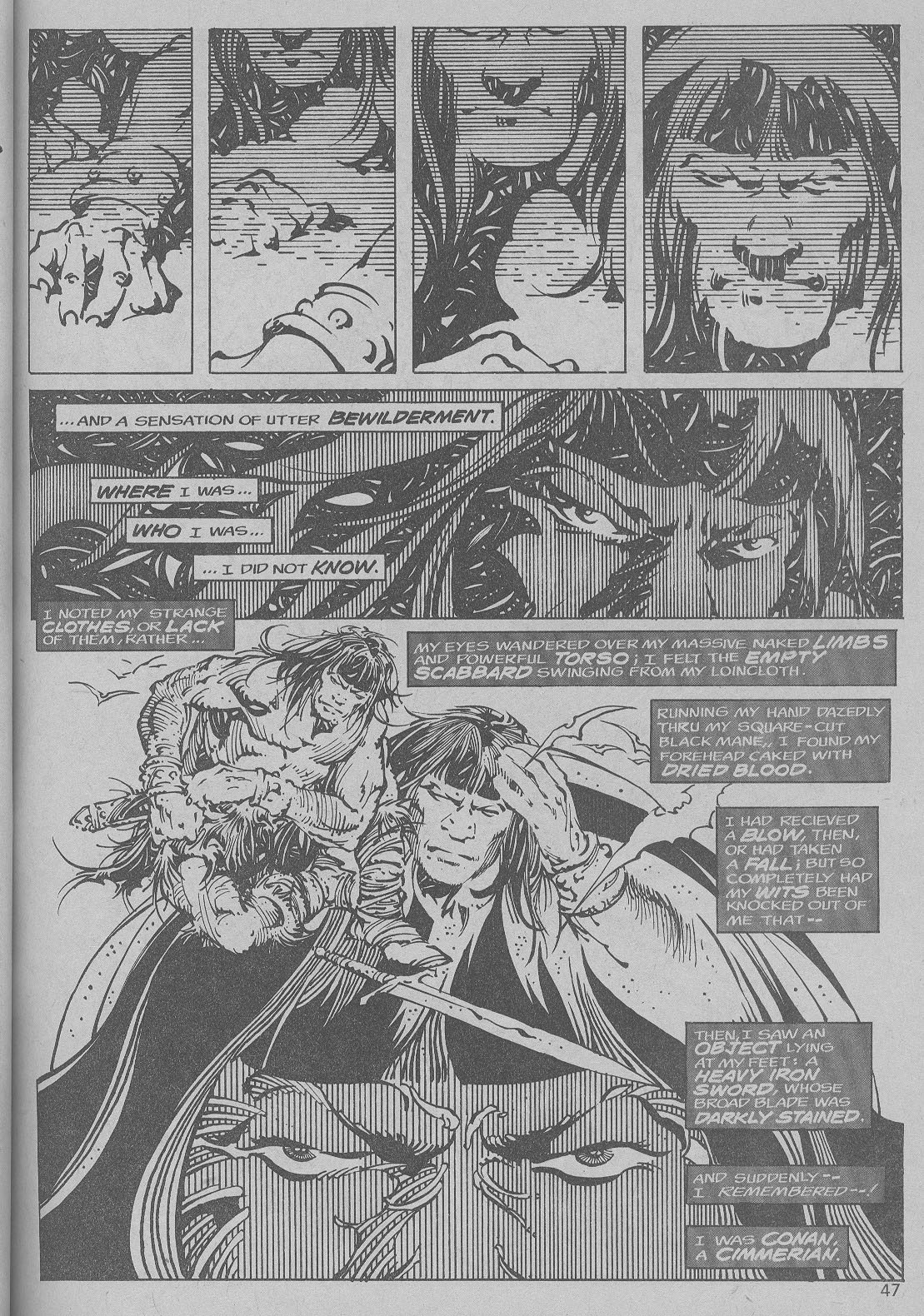 The Savage Sword Of Conan Issue #6 #7 - English 40