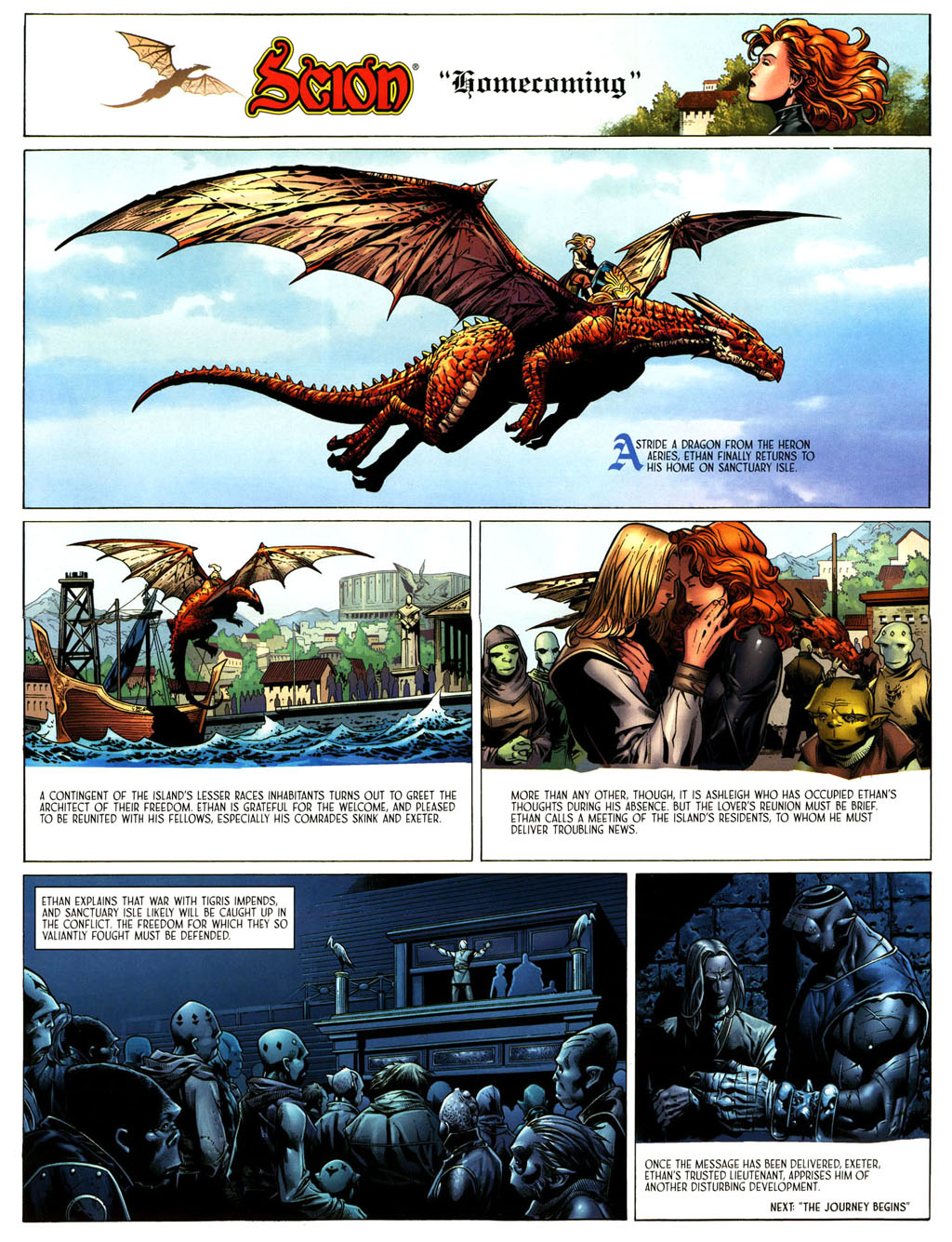 Read online Scion comic -  Issue #39 - 5