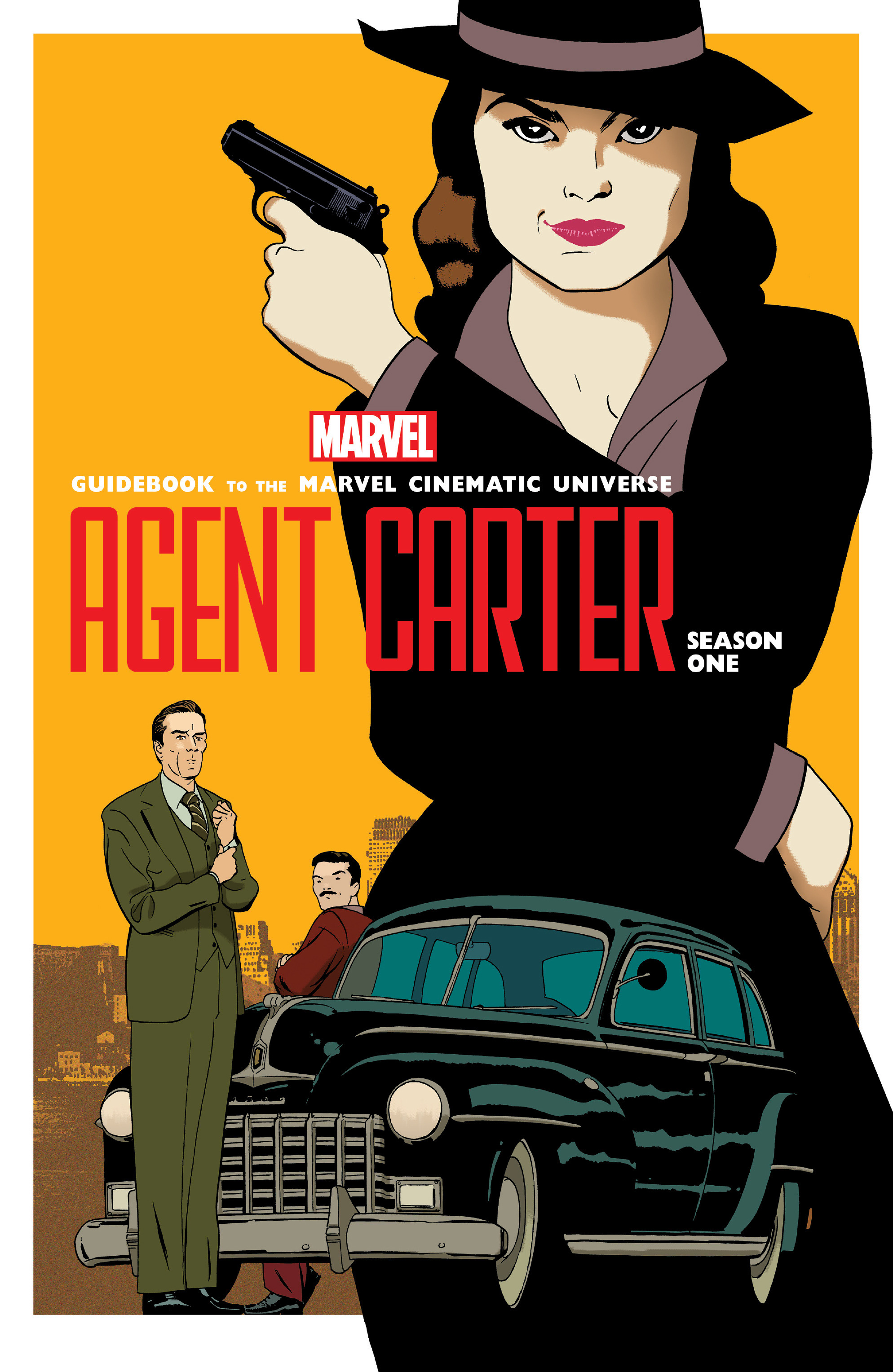 Guidebook to the Marvel Cinematic Universe - Marvel's Agent Carter Season One   issue Full - Page 1