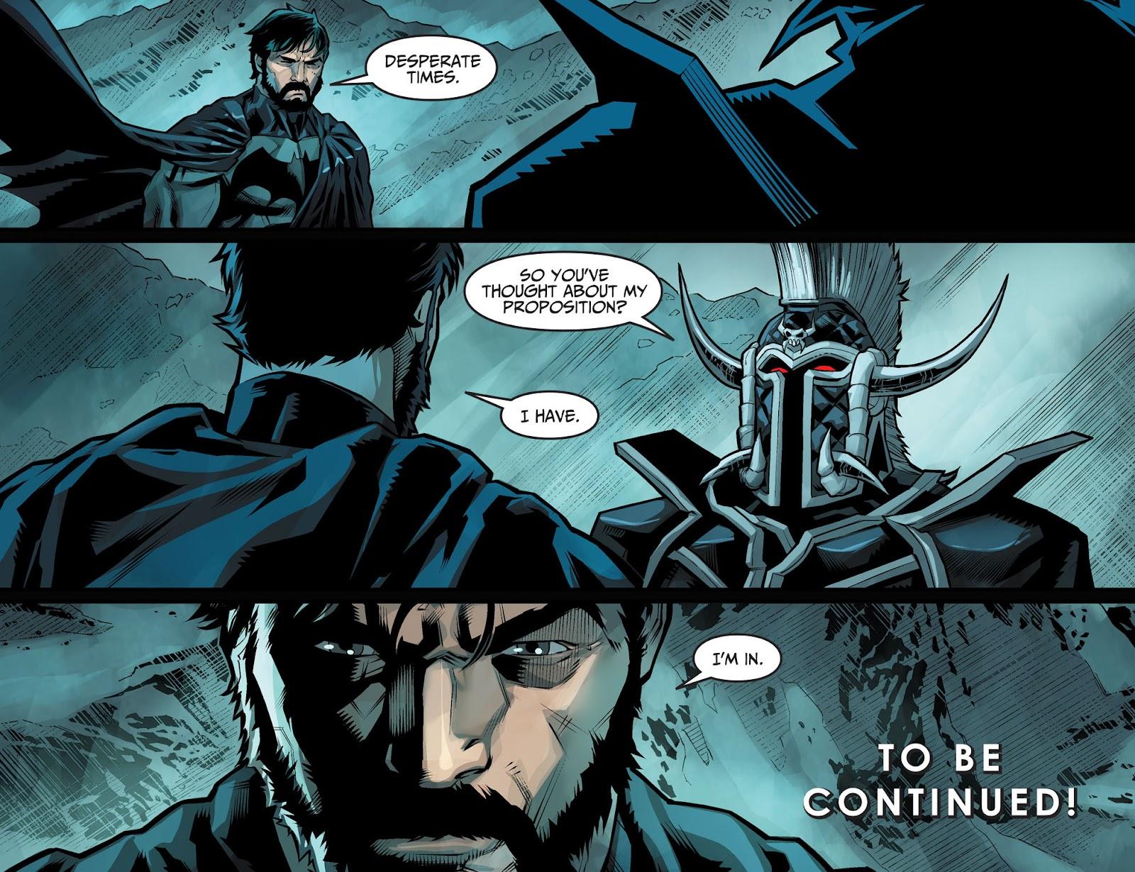 Injustice: Gods Among Us Year Four Issue #1 #2 - English 22