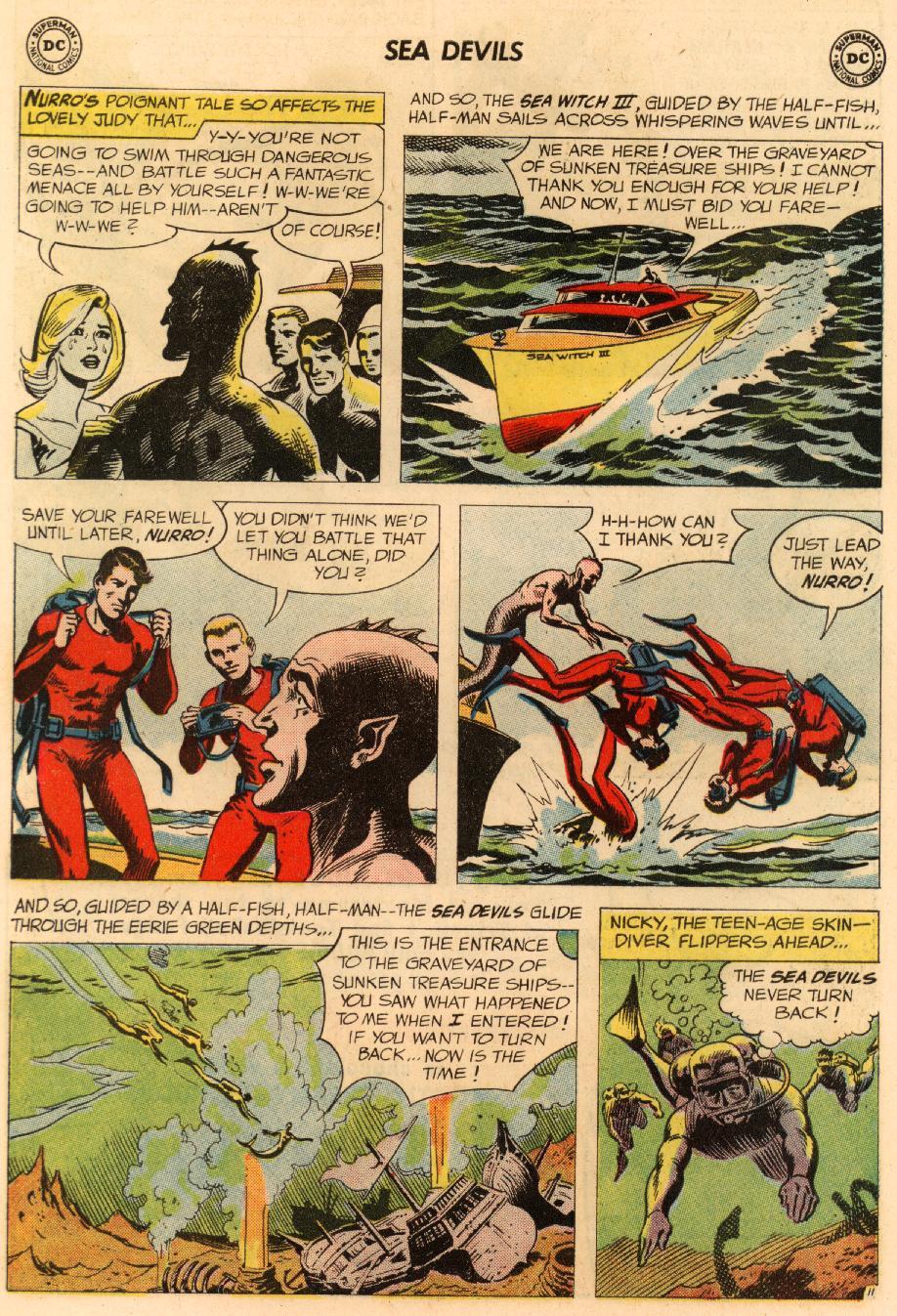 Read online Sea Devils comic -  Issue #8 - 16