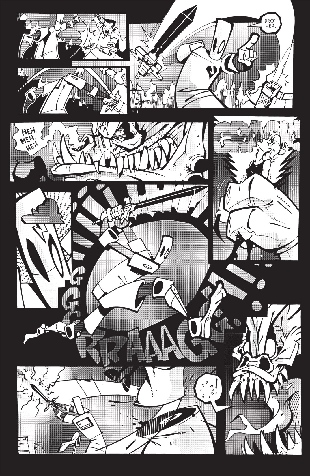 Read online Scud: The Disposable Assassin: The Whole Shebang comic -  Issue # TPB (Part 3) - 51