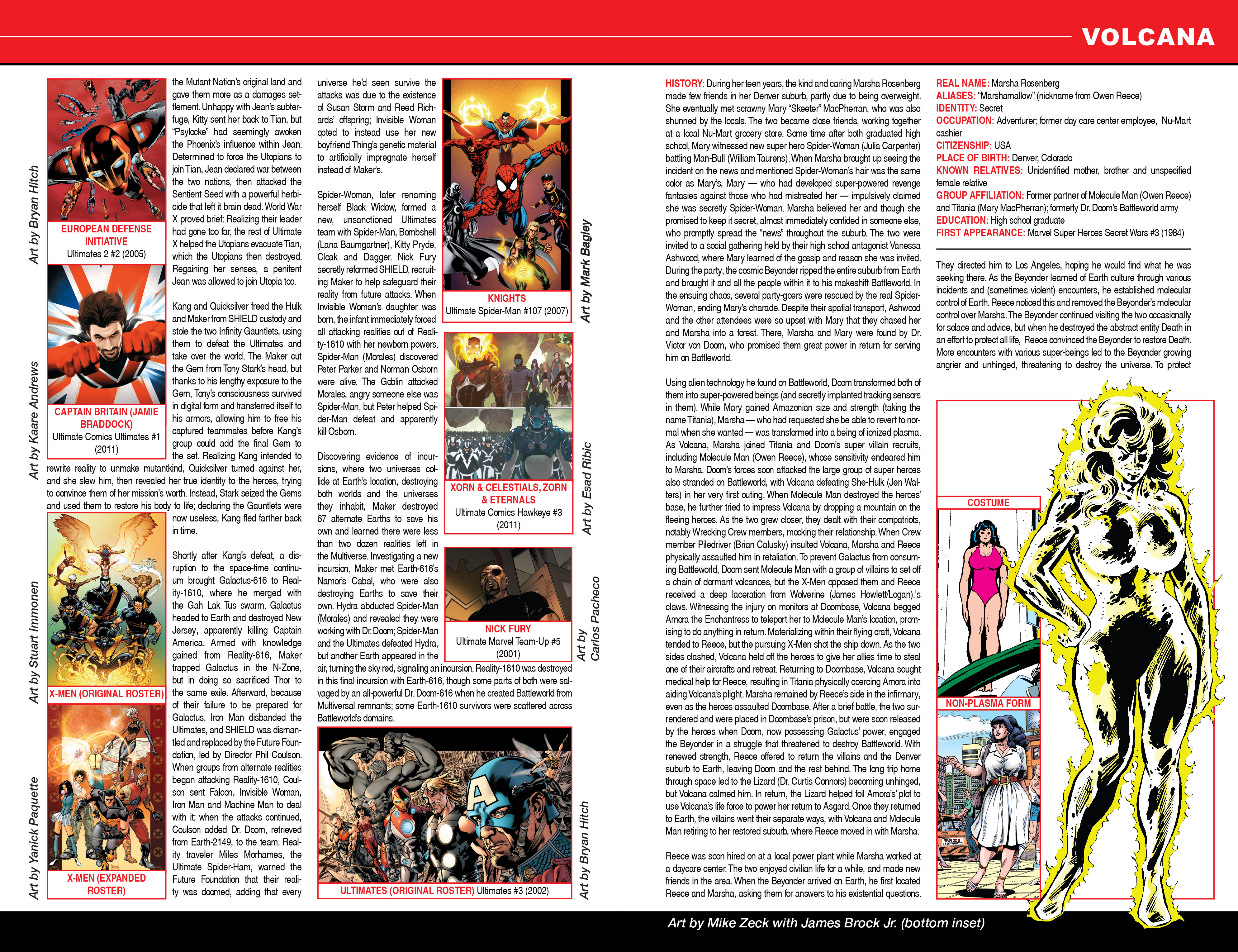 Read online Secret Wars: Official Guide to the Marvel Multiverse comic -  Issue # Full - 29