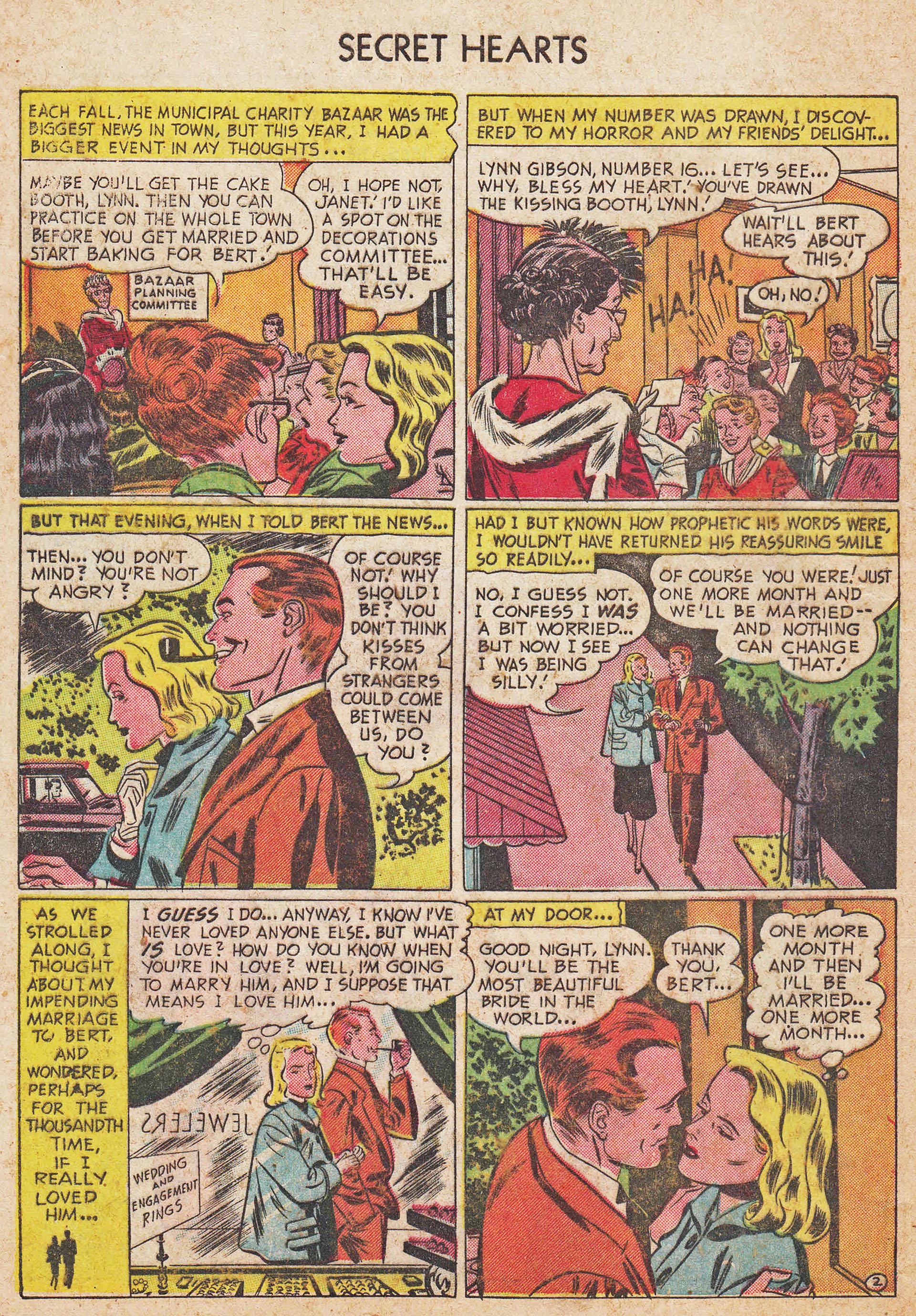 Read online Secret Hearts comic -  Issue #7 - 28