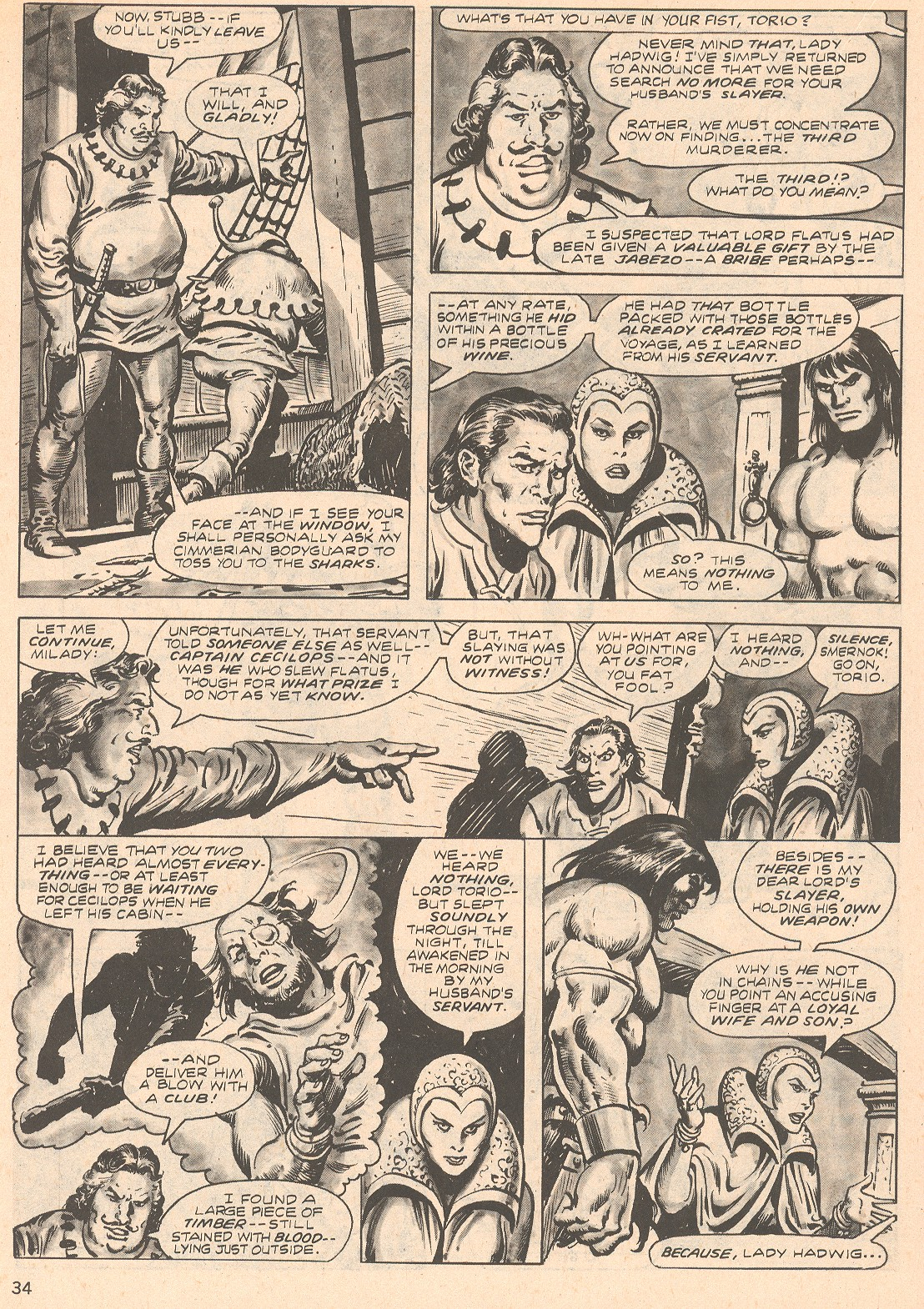 The Savage Sword Of Conan Issue #66 #67 - English 34