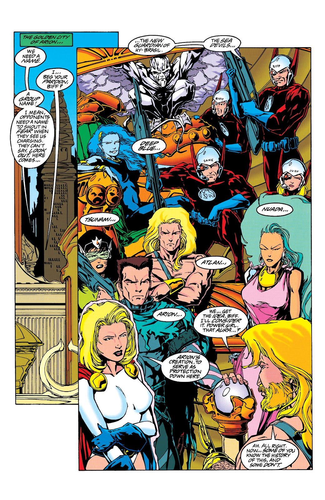 Aquaman (1994) Issue #24 #30 - English 4