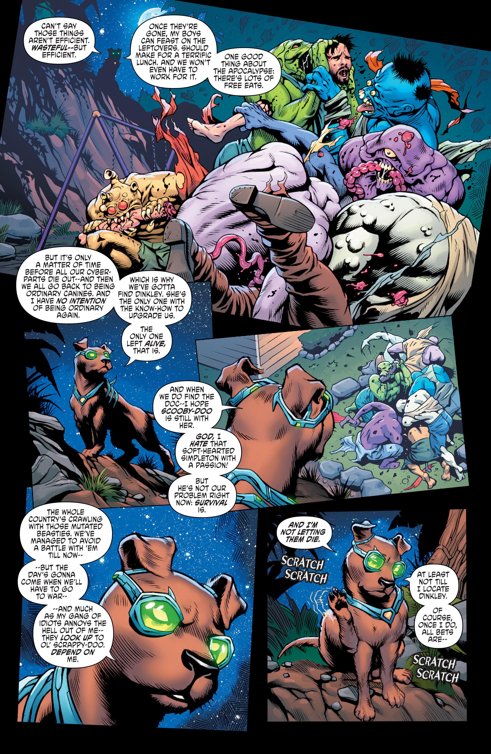 Read online Scooby Apocalypse comic -  Issue #6 - 23