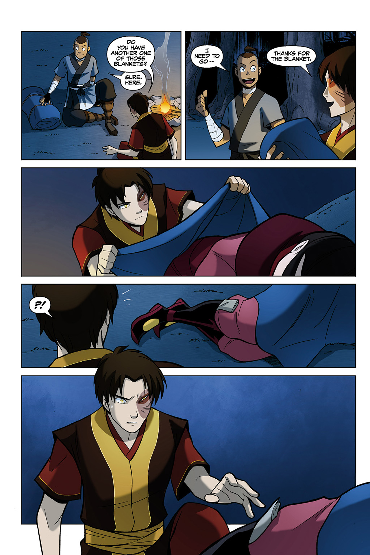 Read online Nickelodeon Avatar: The Last Airbender - The Search comic -  Issue # Part 1 - 76