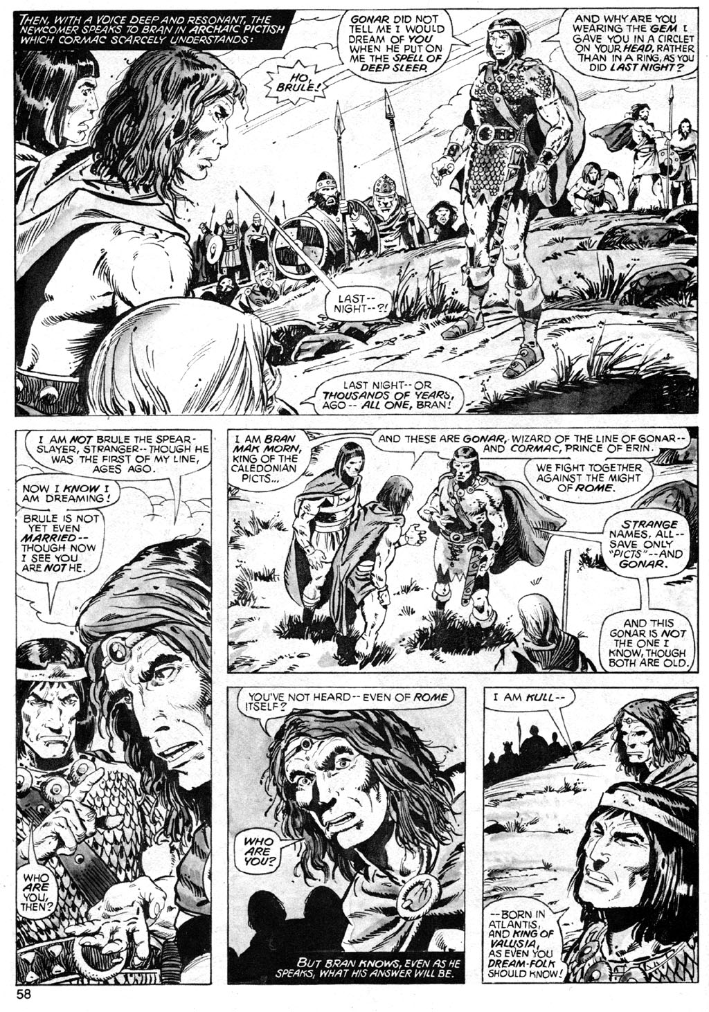 The Savage Sword Of Conan Issue #42 #43 - English 58