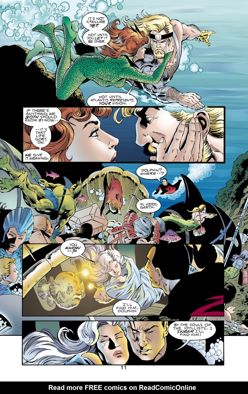Aquaman (1994) Issue #65 #71 - English 11