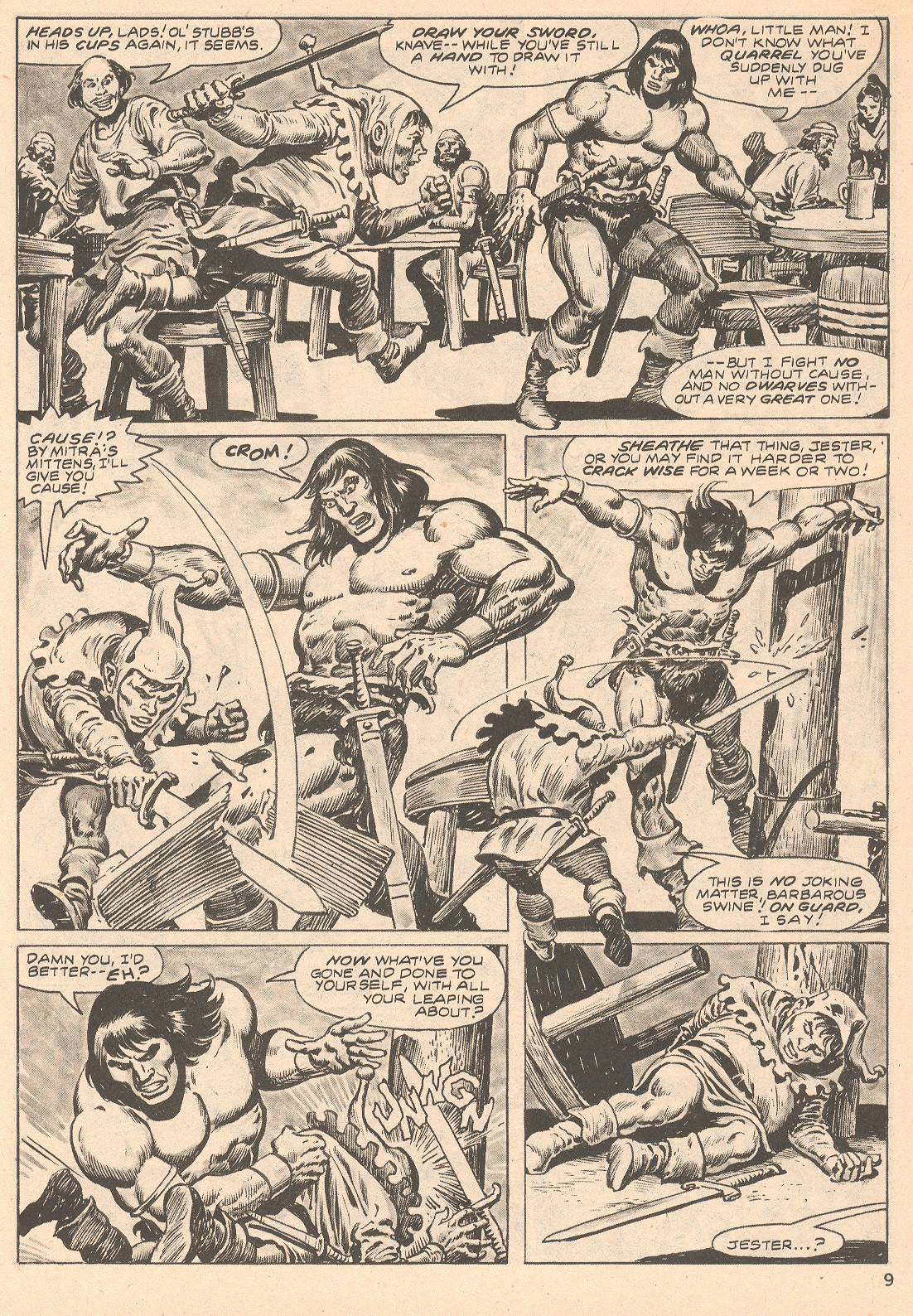 The Savage Sword Of Conan Issue #66 #67 - English 9