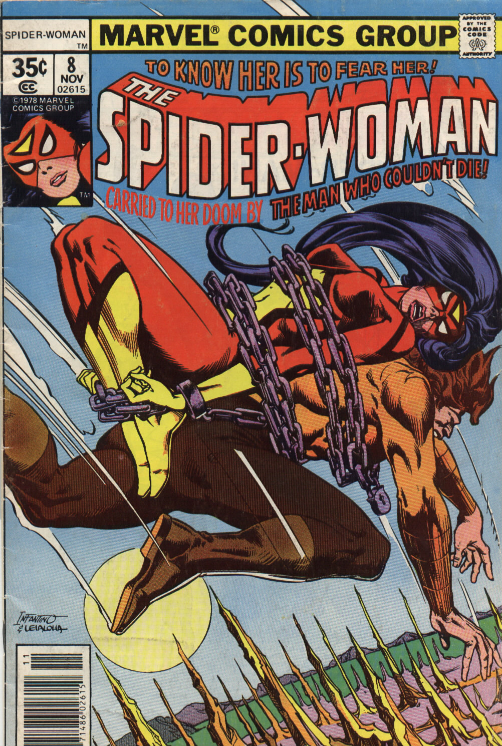 Spider-Woman (1978) Issue #8 #8 - English 1