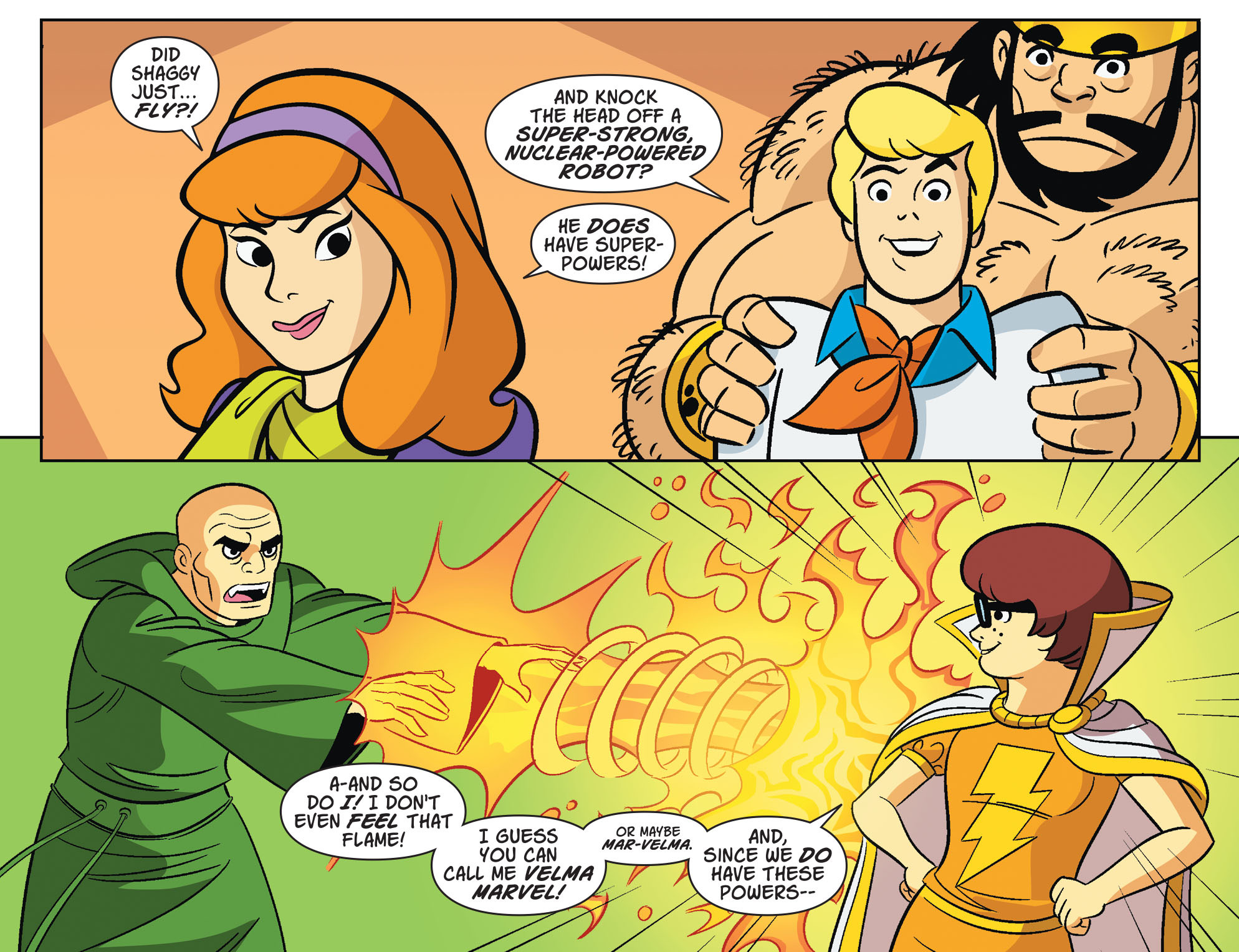 Read online Scooby-Doo! Team-Up comic -  Issue #32 - 9
