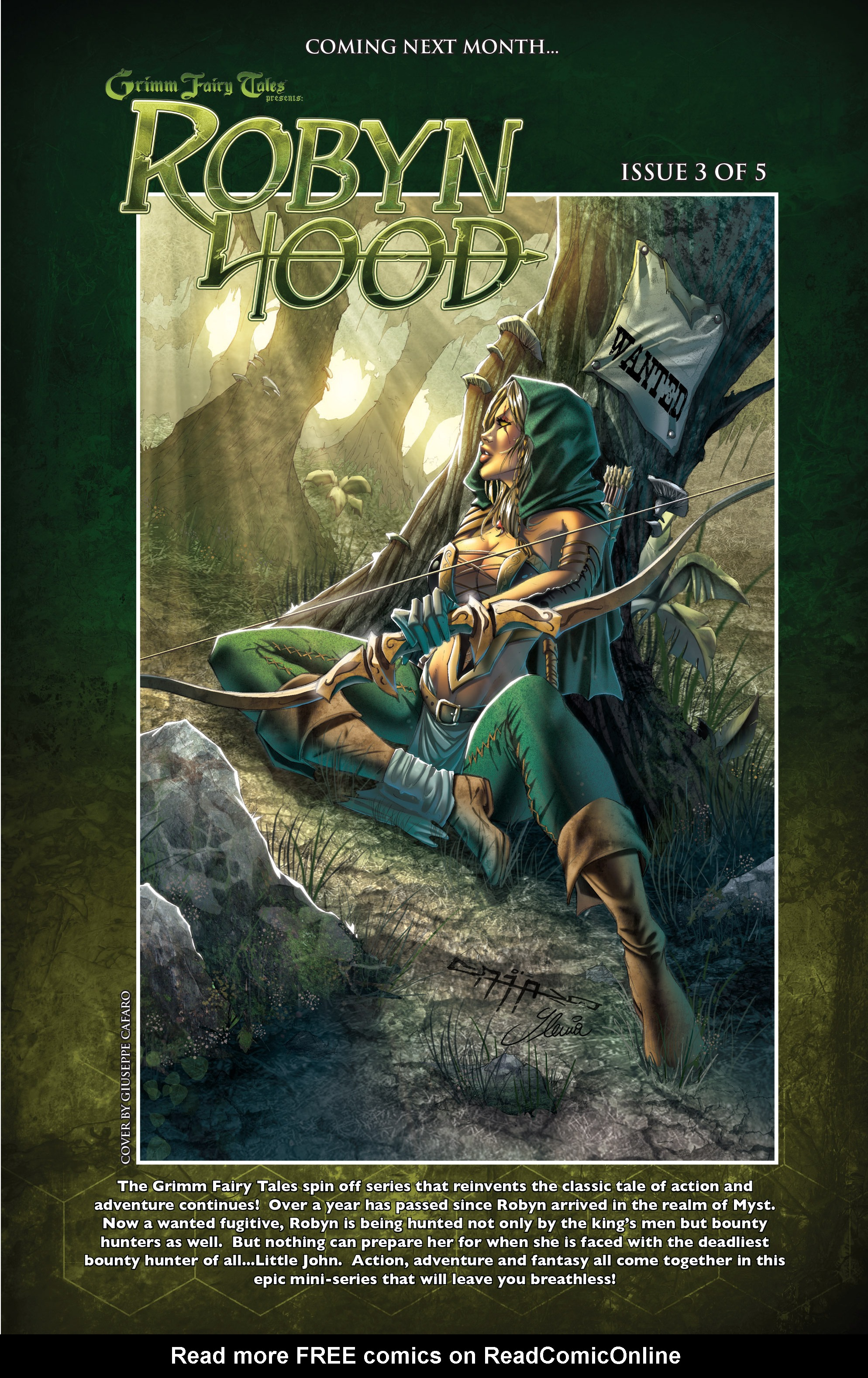 Read online Grimm Fairy Tales presents Robyn Hood (2012) comic -  Issue #2 - 23