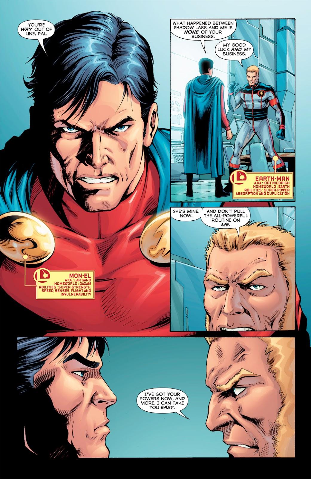 Legion of Super-Heroes (2010) Issue #7 #8 - English 11