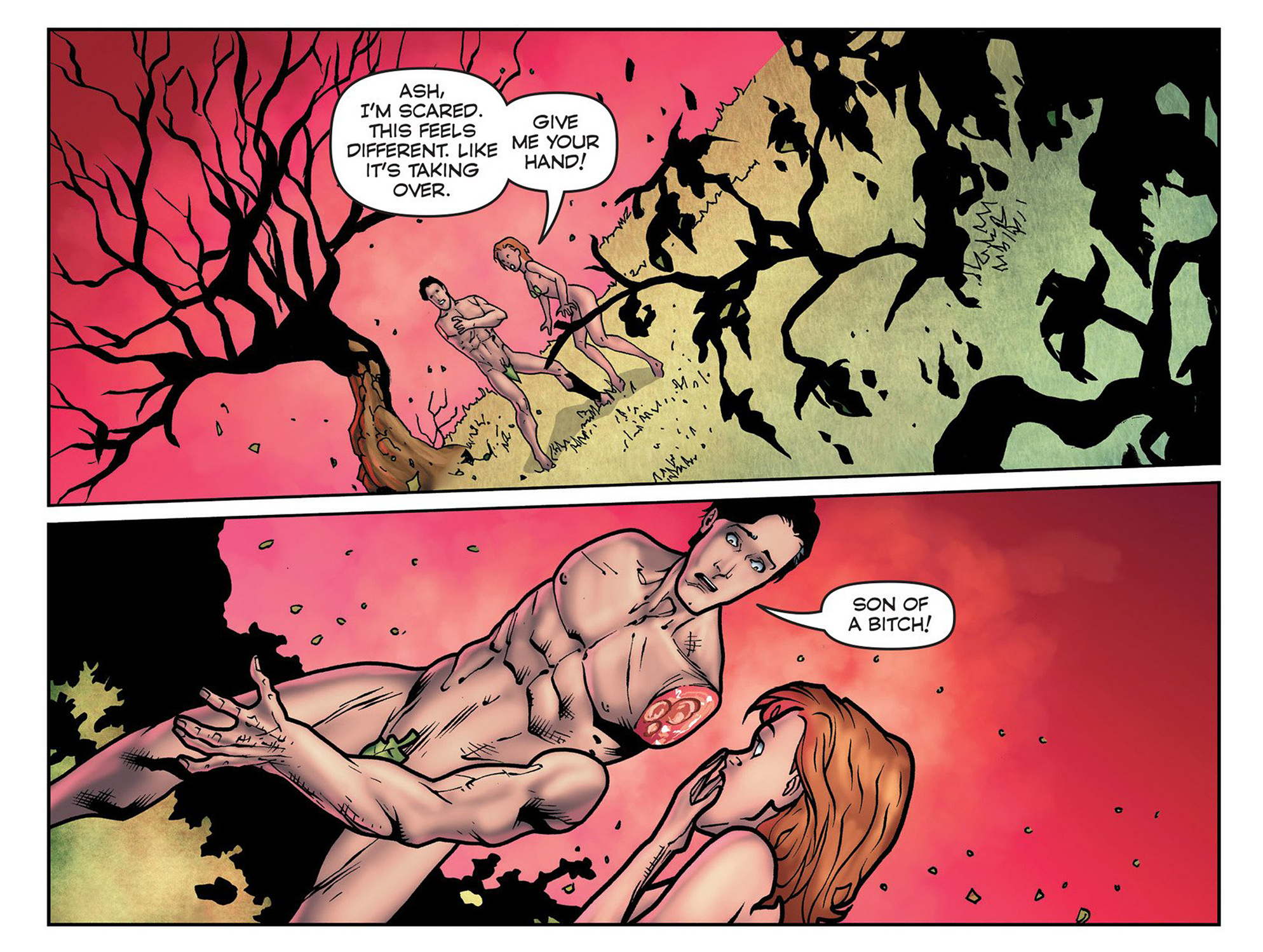 Read online Evil Dead 2: Cradle of the Damned comic -  Issue #3 - 20