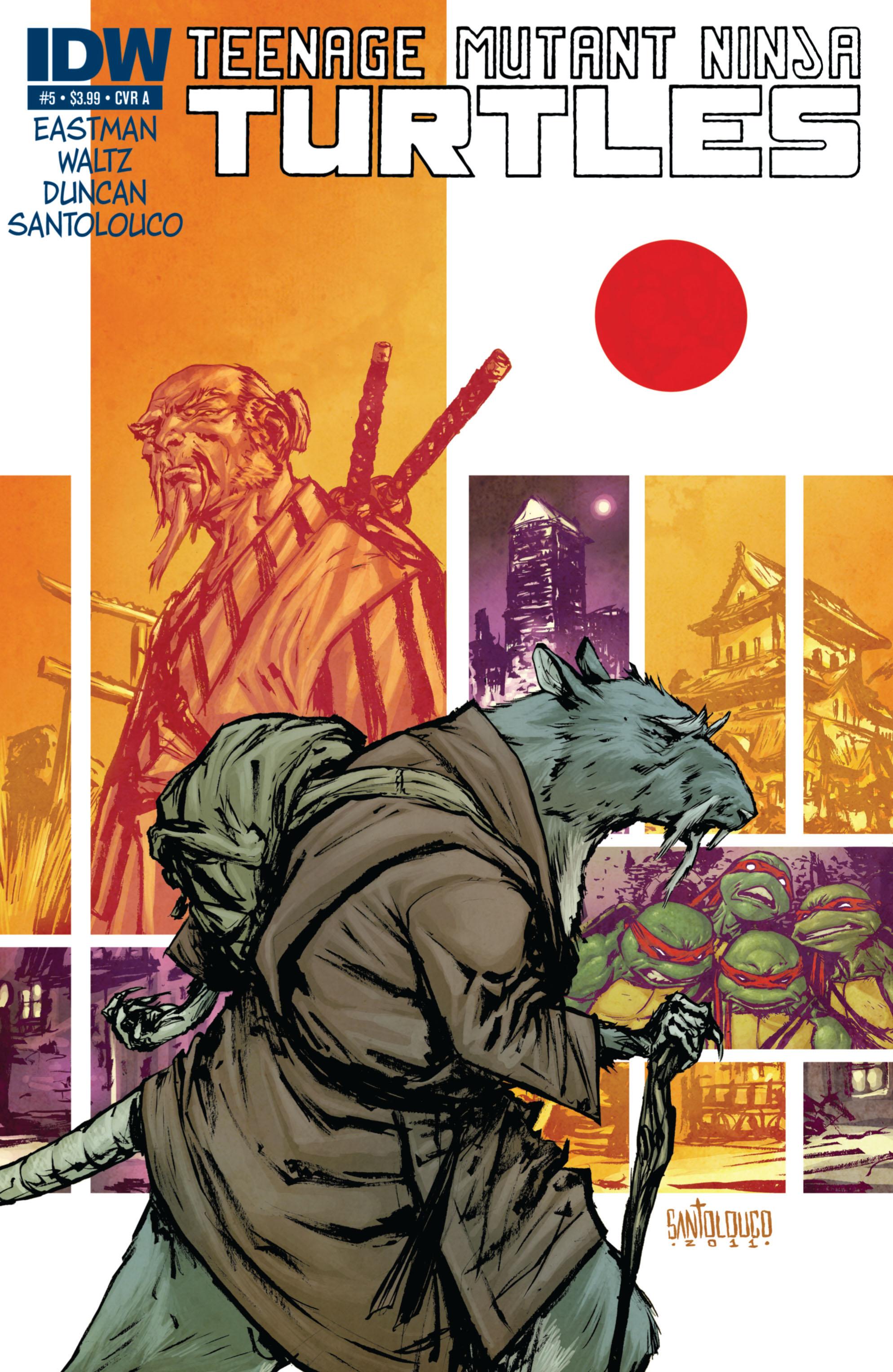 Teenage Mutant Ninja Turtles (2011) 5 Page 1