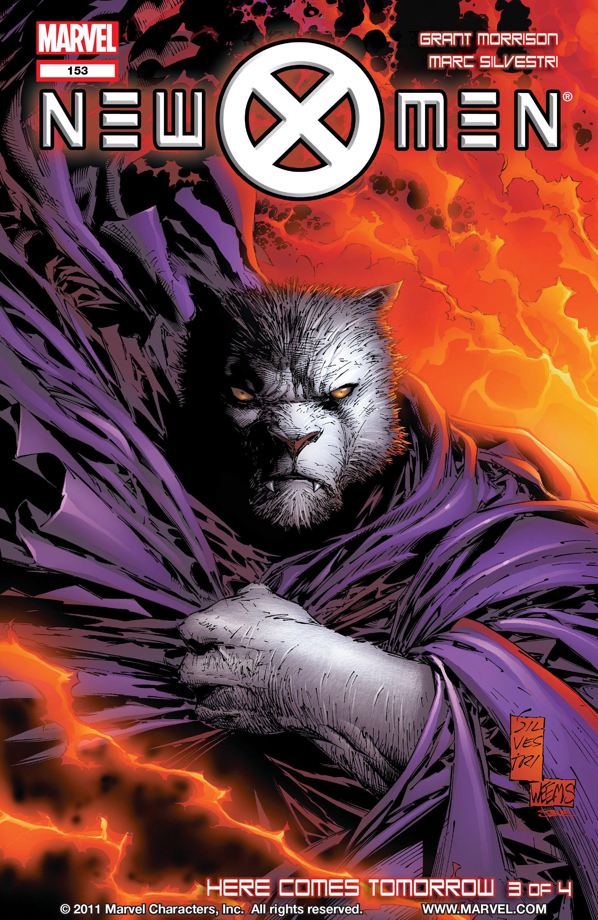 Read online New X-Men (2001) comic -  Issue #153 - 1