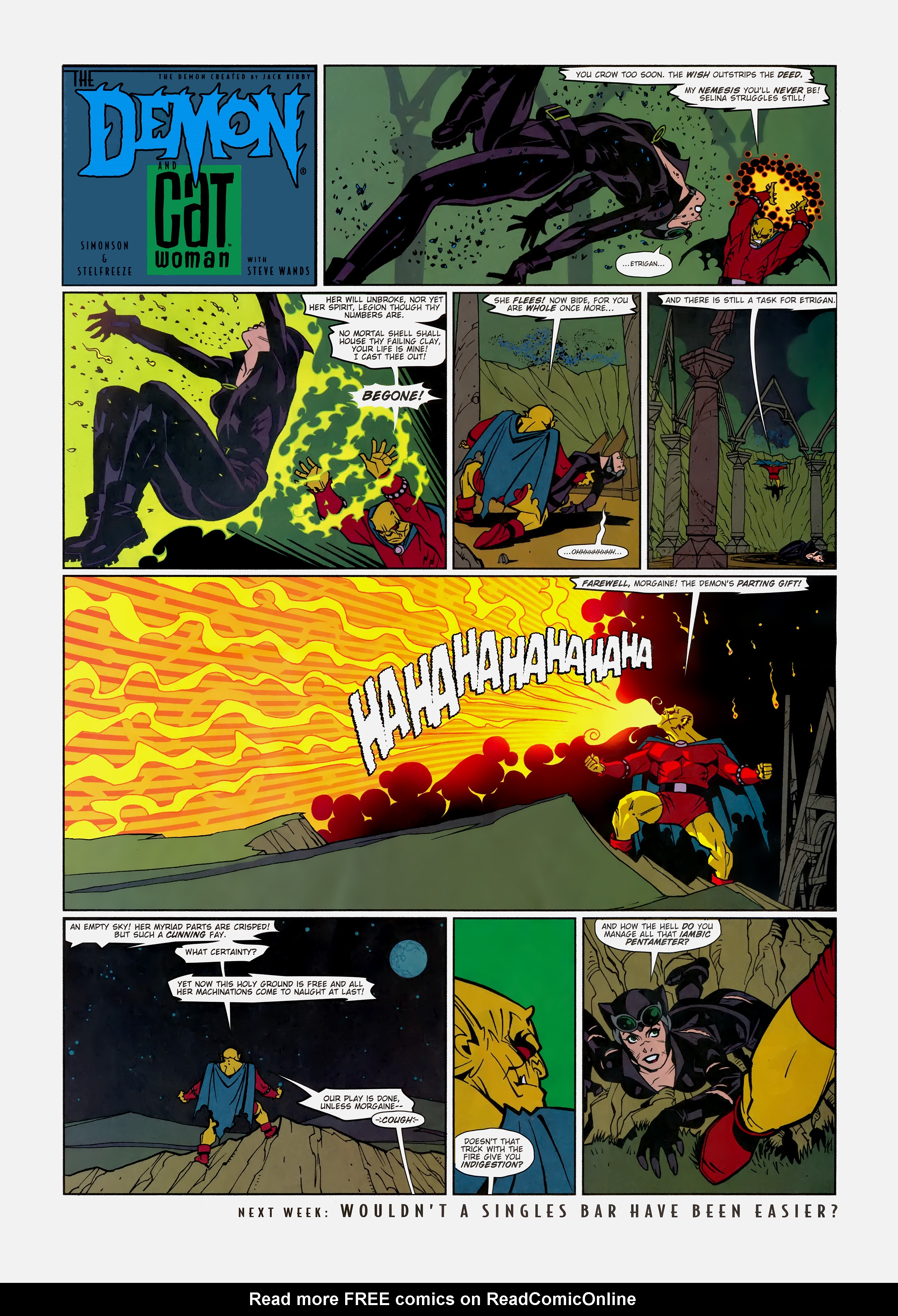 Read online Wednesday Comics comic -  Issue #11 - 15