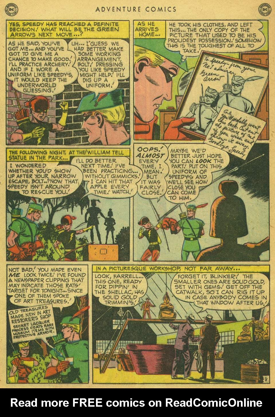 Read online Adventure Comics (1938) comic -  Issue #164 - 46