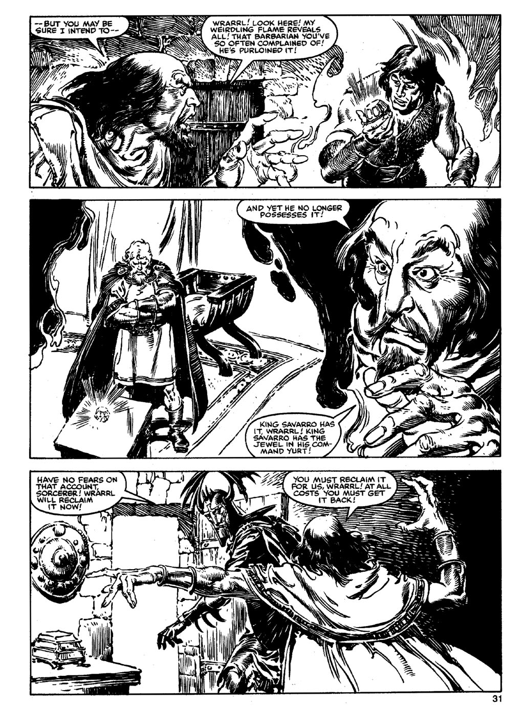 The Savage Sword Of Conan Issue #90 #91 - English 30