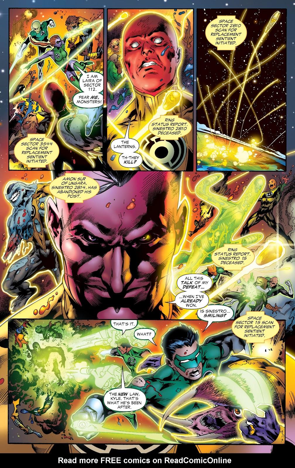 Green Lantern: The Sinestro Corps War Full #1 - English 262