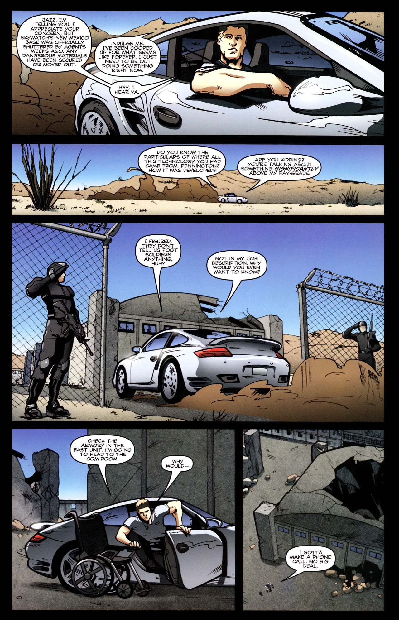 Read online The Transformers (2009) comic -  Issue #29 - 21