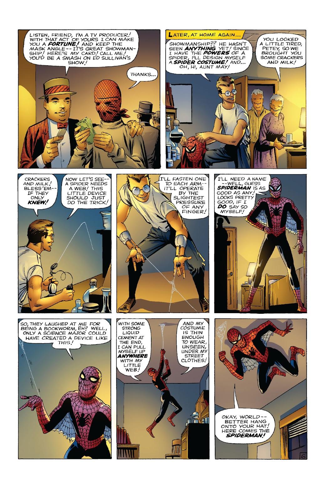 Amazing Fantasy #15: Spider-Man! Full #1 - English 8