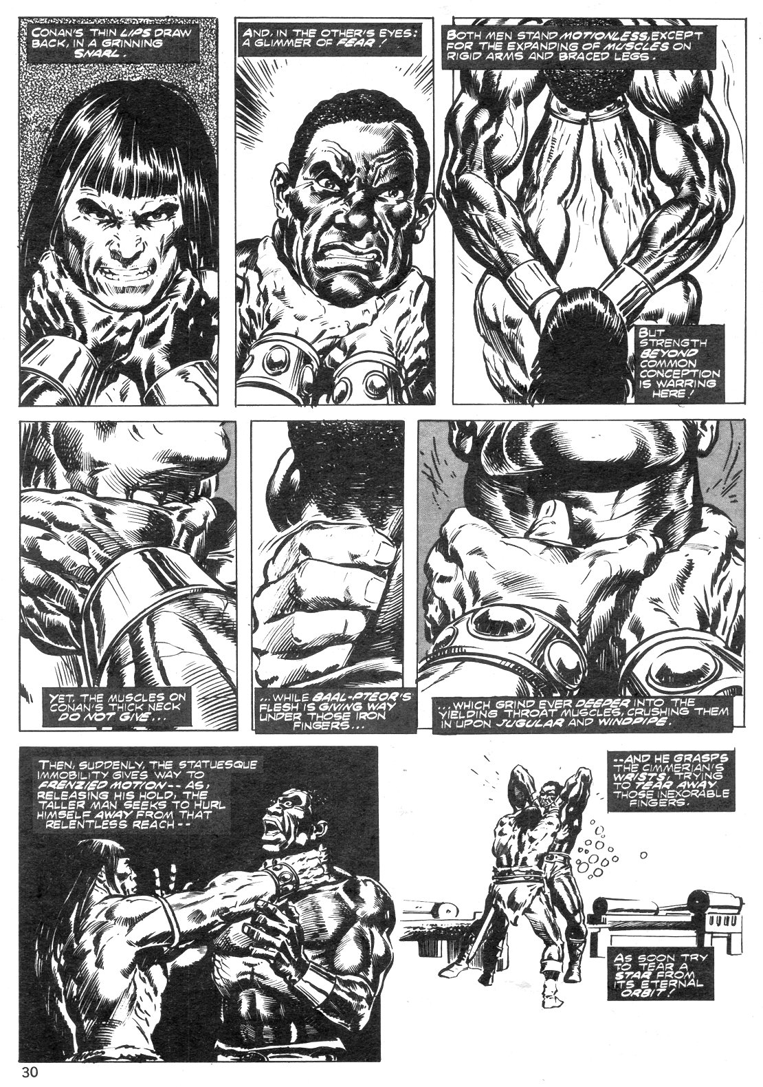 The Savage Sword Of Conan Issue #14 #15 - English 30