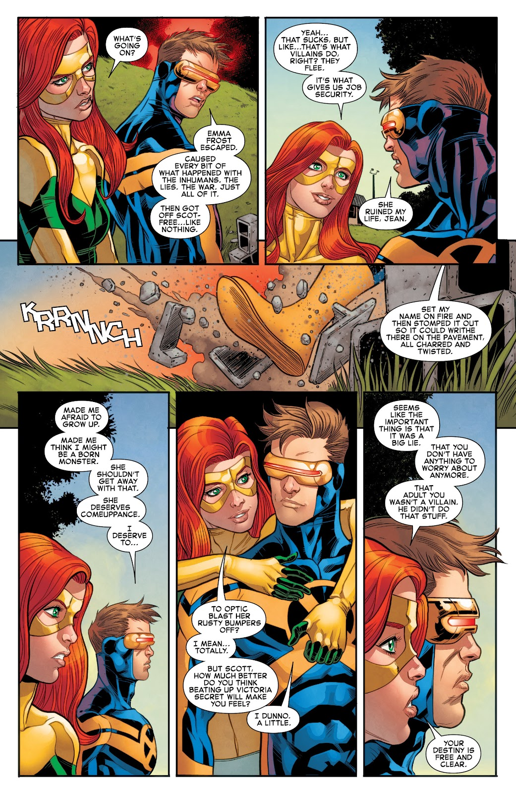 All-New X-Men (2016) Issue #19 #21 - English 8